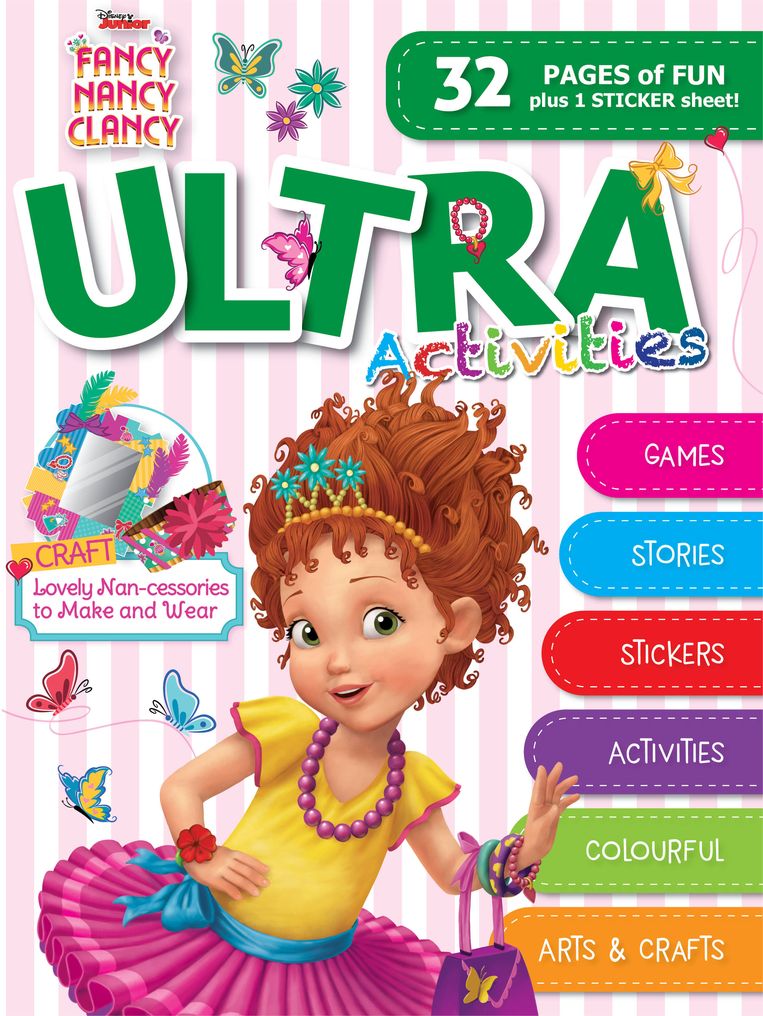 Disney Fancy Nancy - Ultra Activities