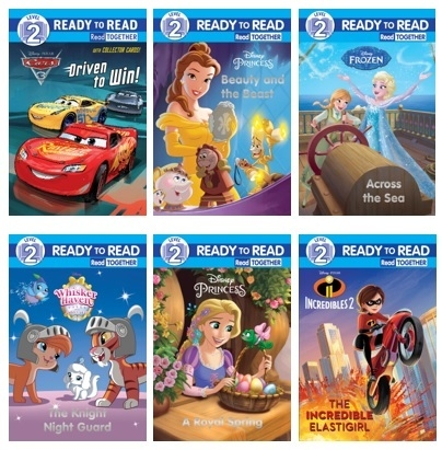 Assorted - Disney RTR Level 2