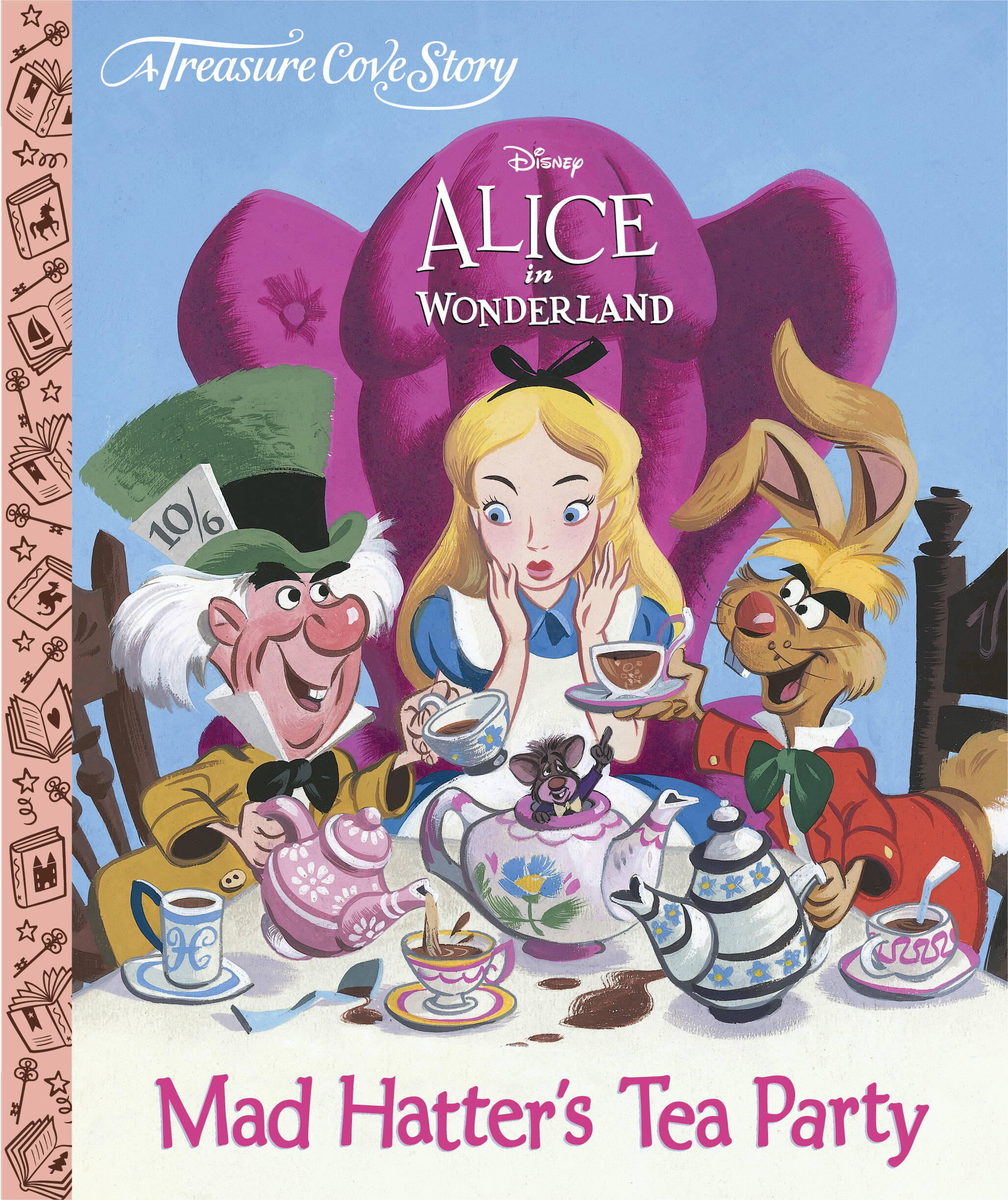 Disney Alice In Wonderland - Treasure Cove Stories