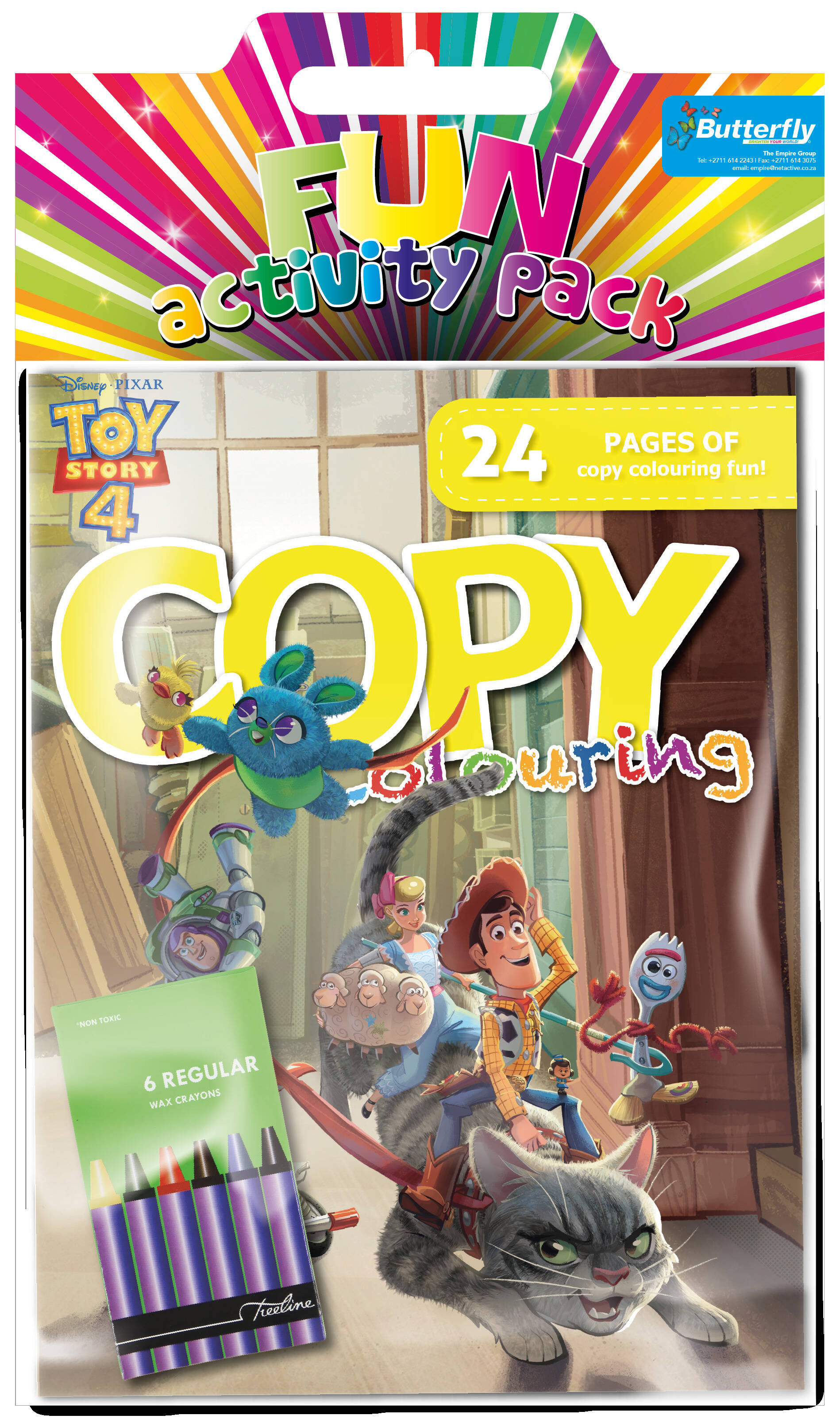 Disney Toy Story - Hanging Colouring Pack