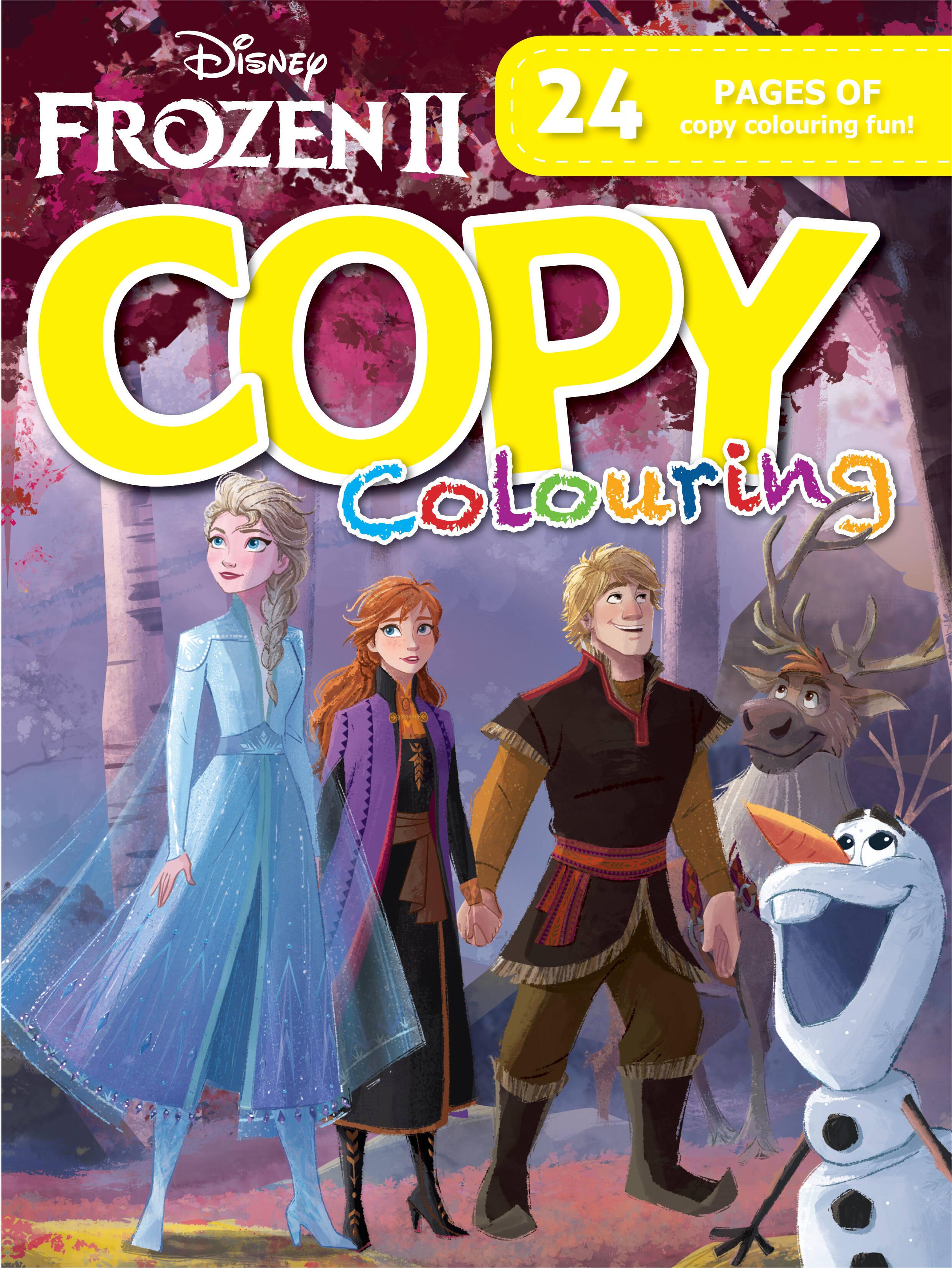 Disney Frozen 2 - 24pg Copy Colour Book