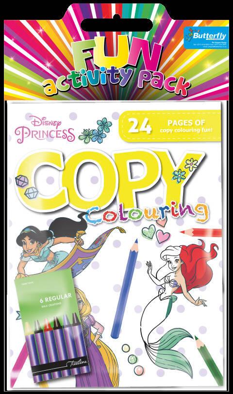 Disney Princess - Hanging Colouring Pack