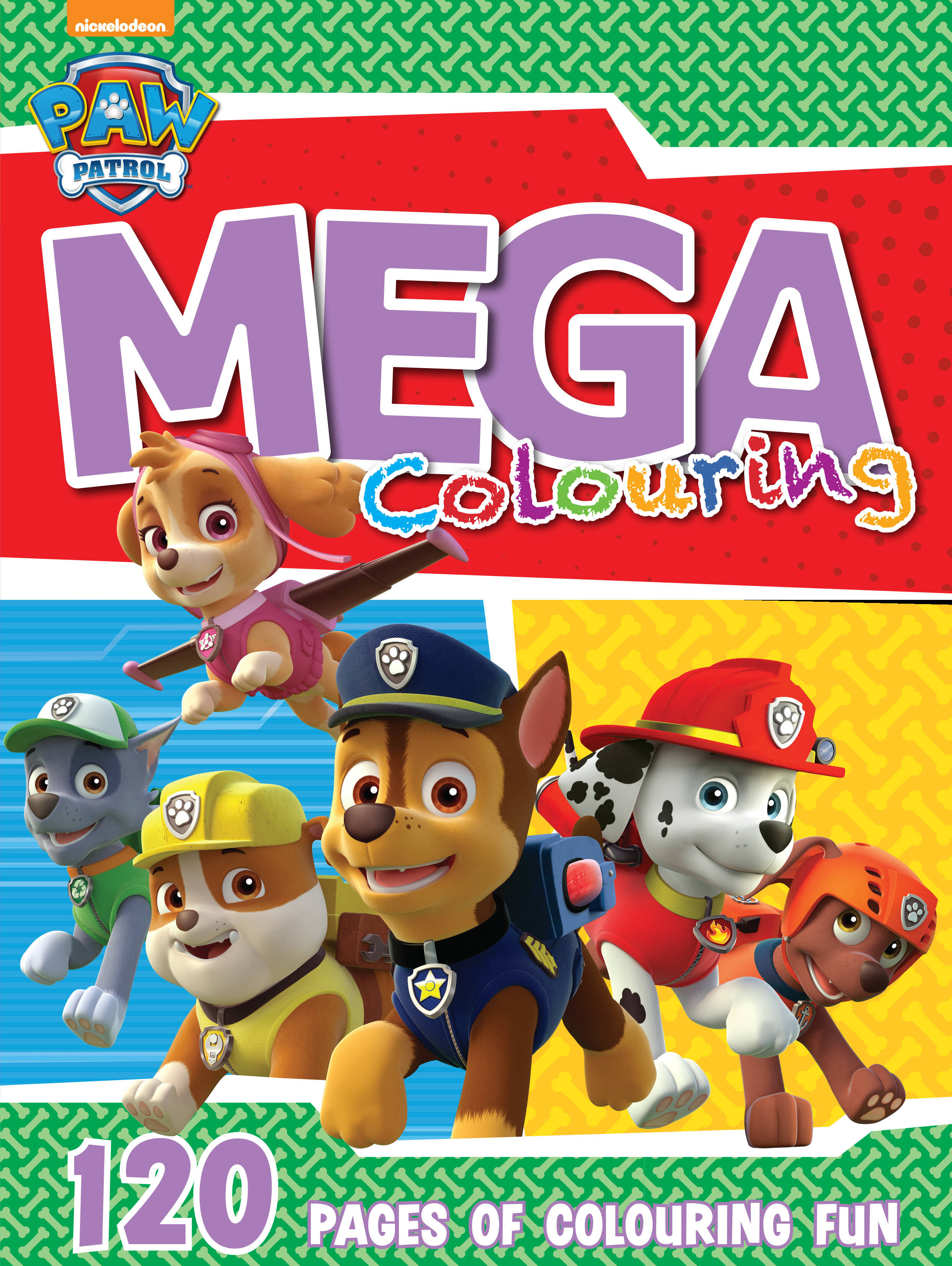 Paw Patrol - 120pg Mega Colour & Activity Book