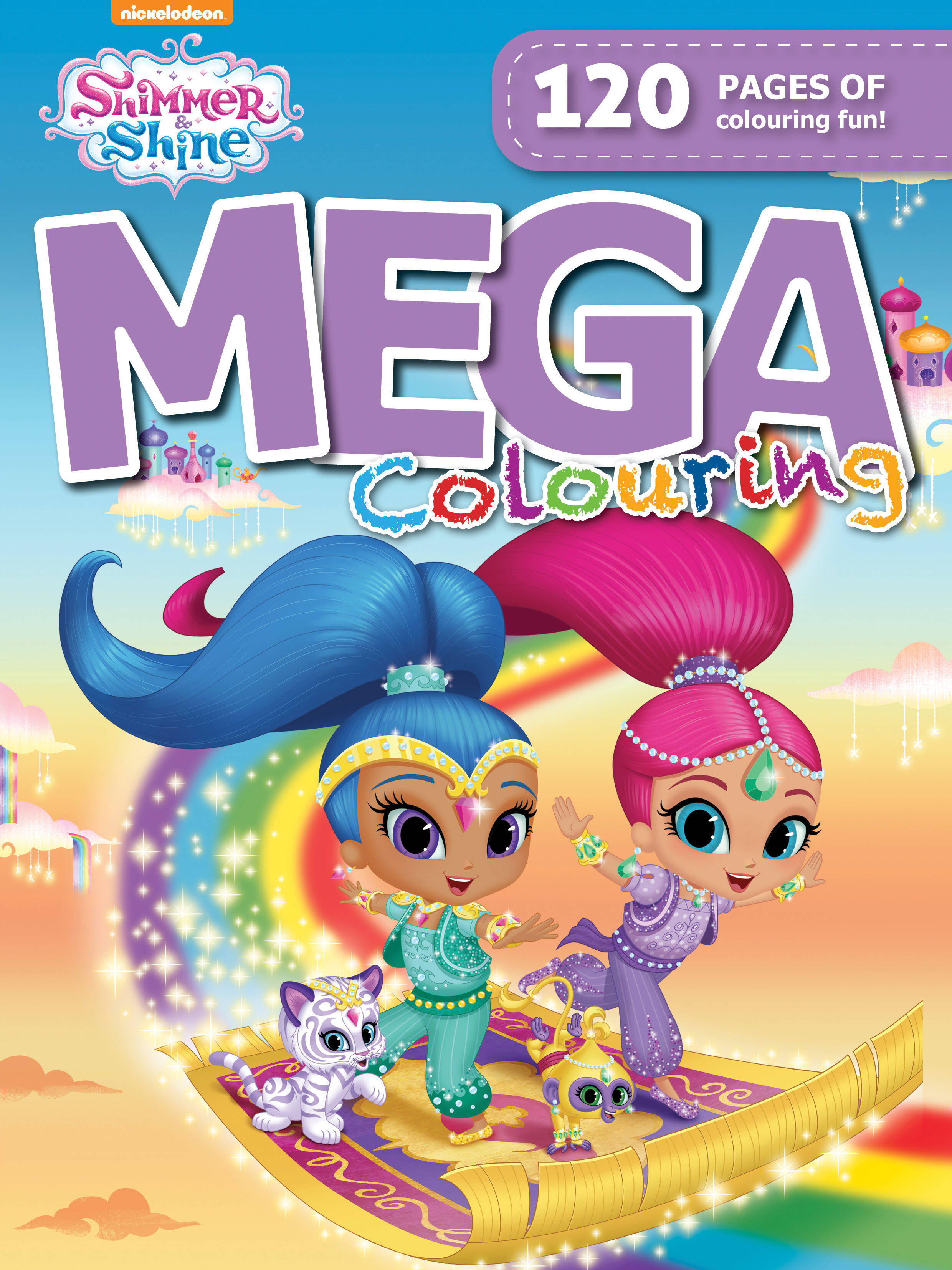 Shimmer & Shine - 120pg Mega Colour & Activity Book