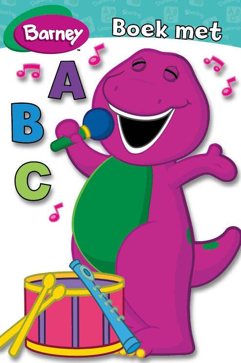 Barney - Boek Met ABC MHB