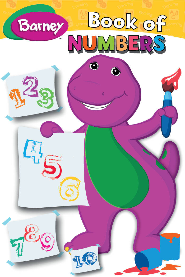 Barney - Book Of Numbers MHB