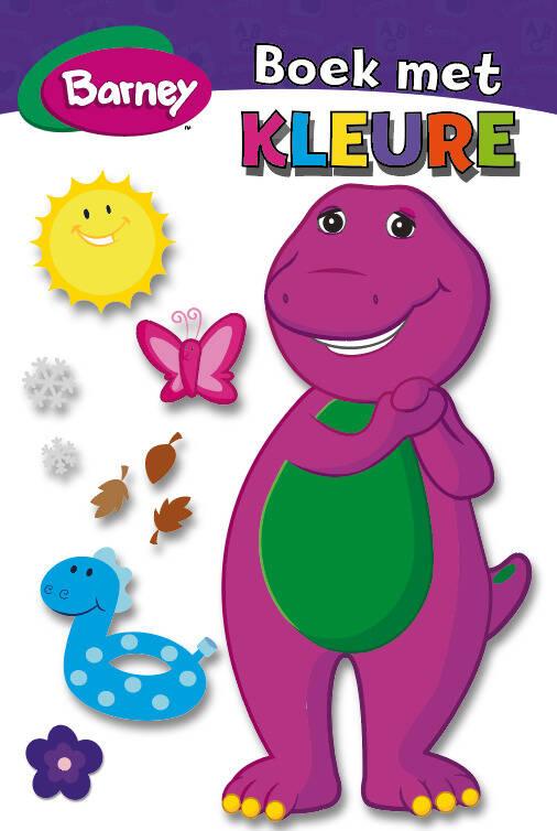 Barney - Boek Met Kleure MHB