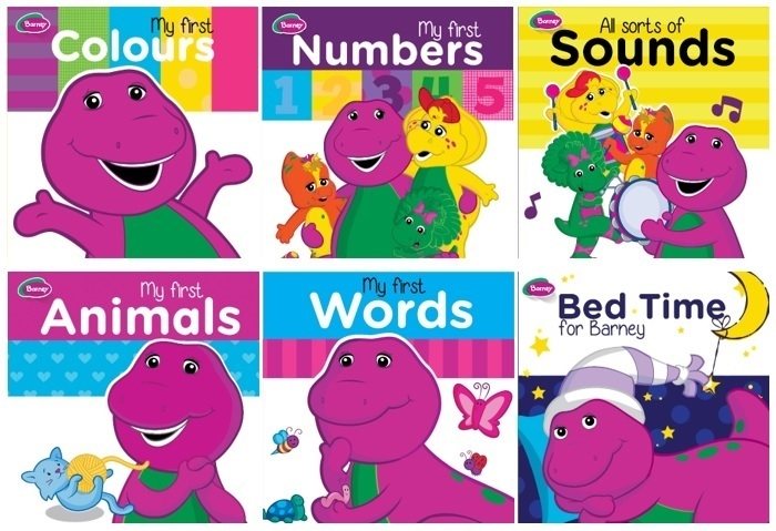Assorted - Barney Board Book