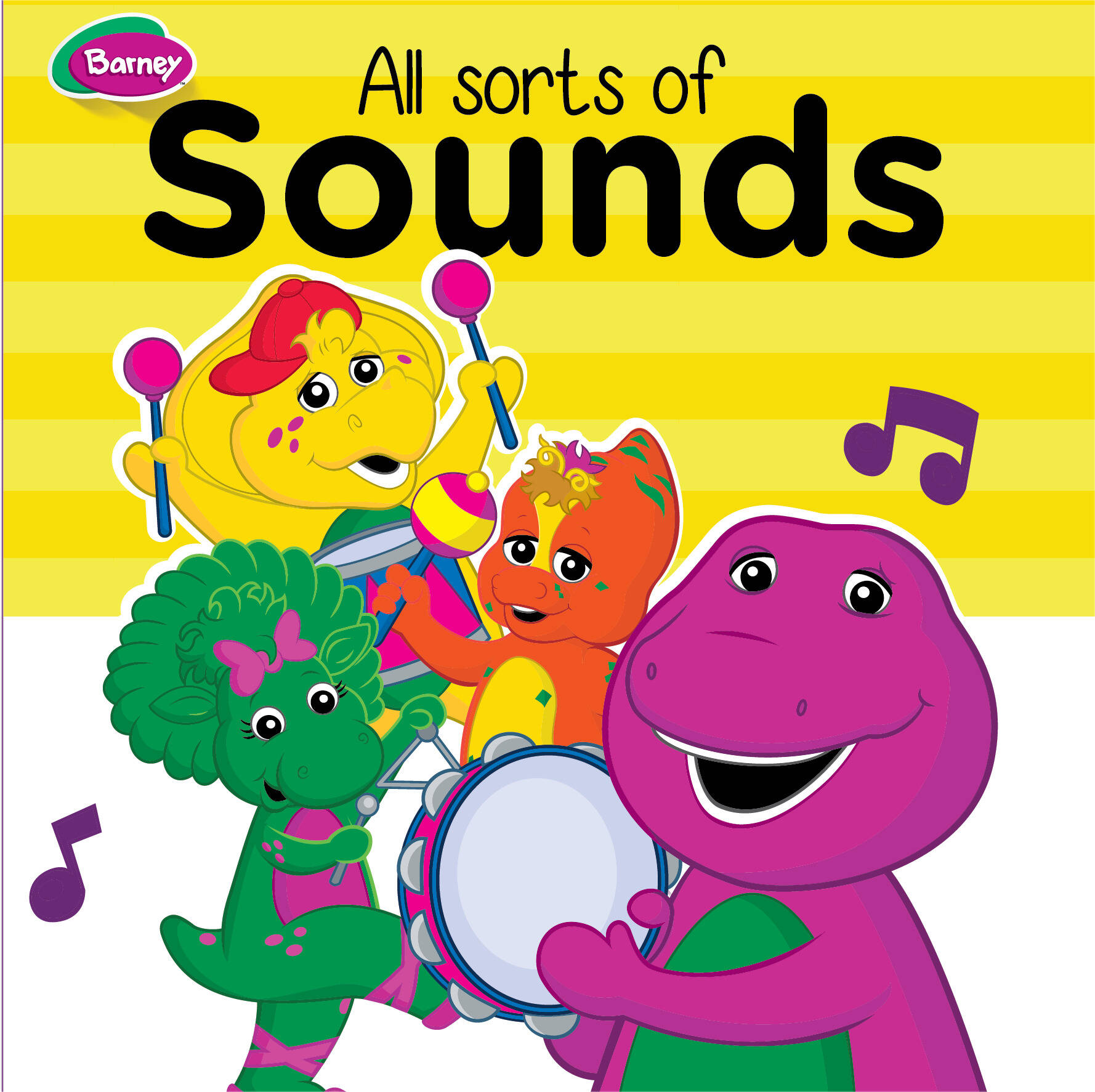 Barney Board Book - All Sorts Of Sounds