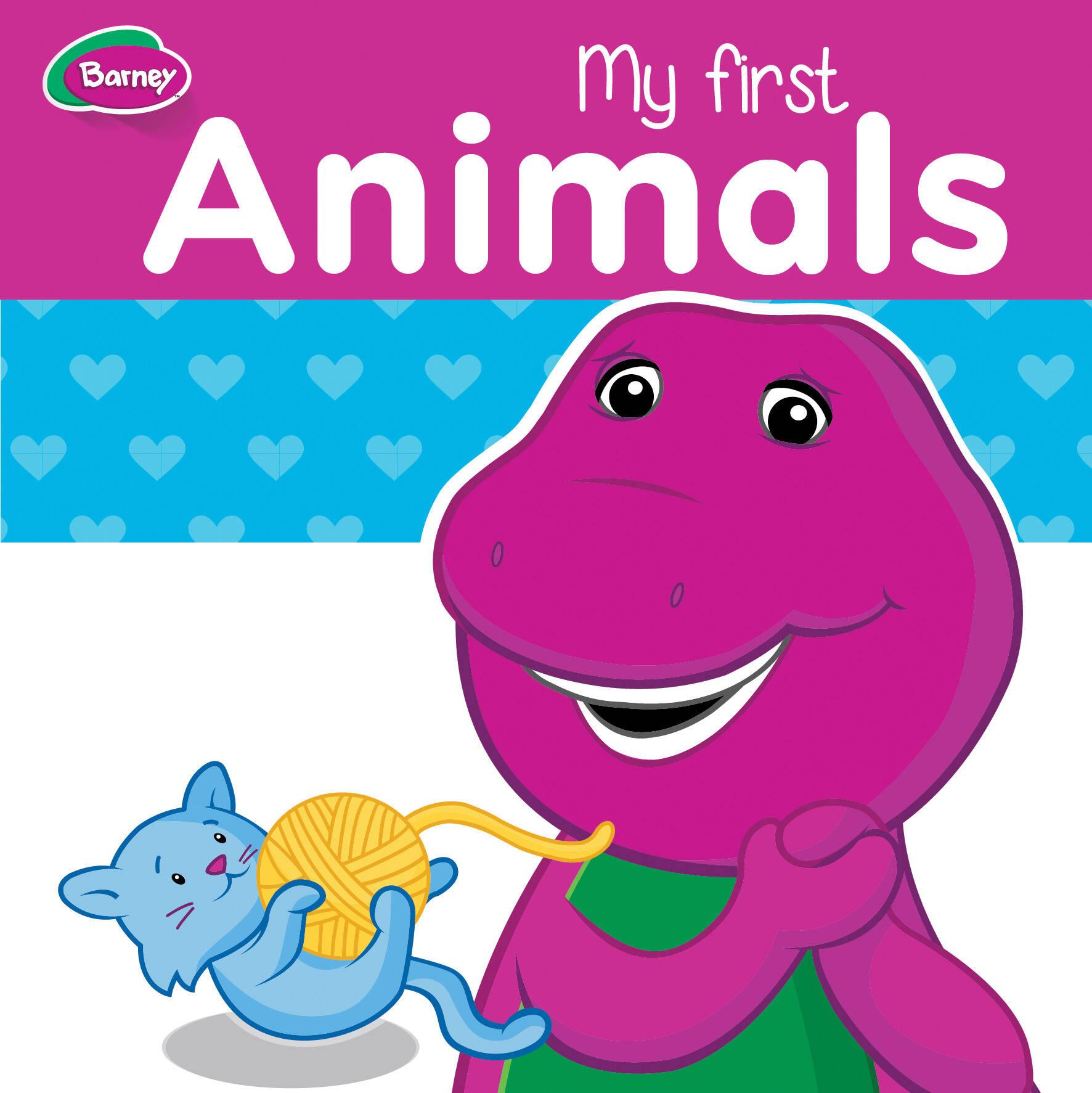 Barney Board Book - My First Animals