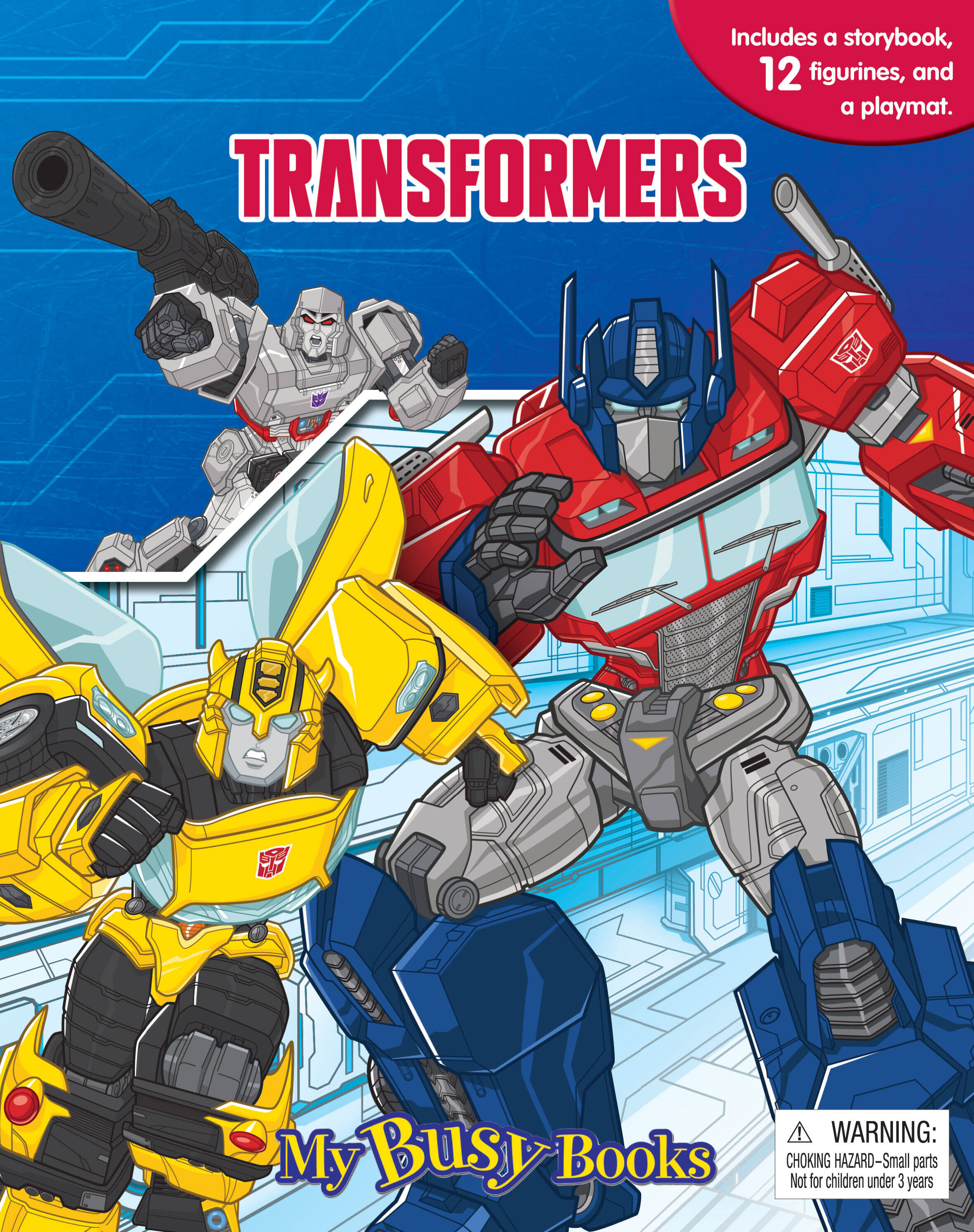 Transformers - My Busy Book