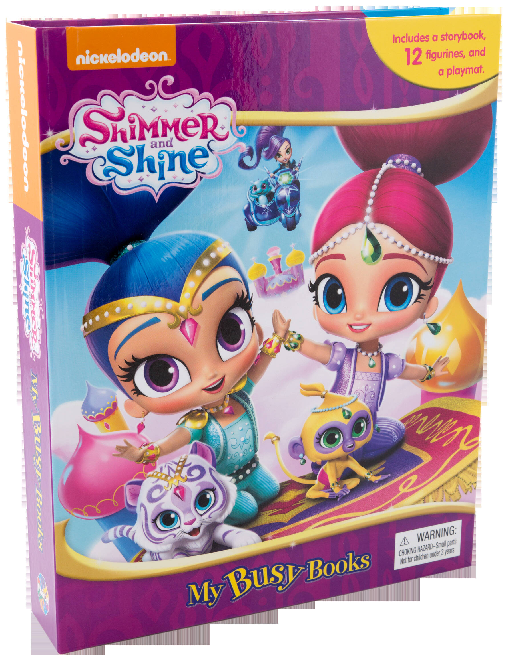 Shimmer & Shine - My Busy Book