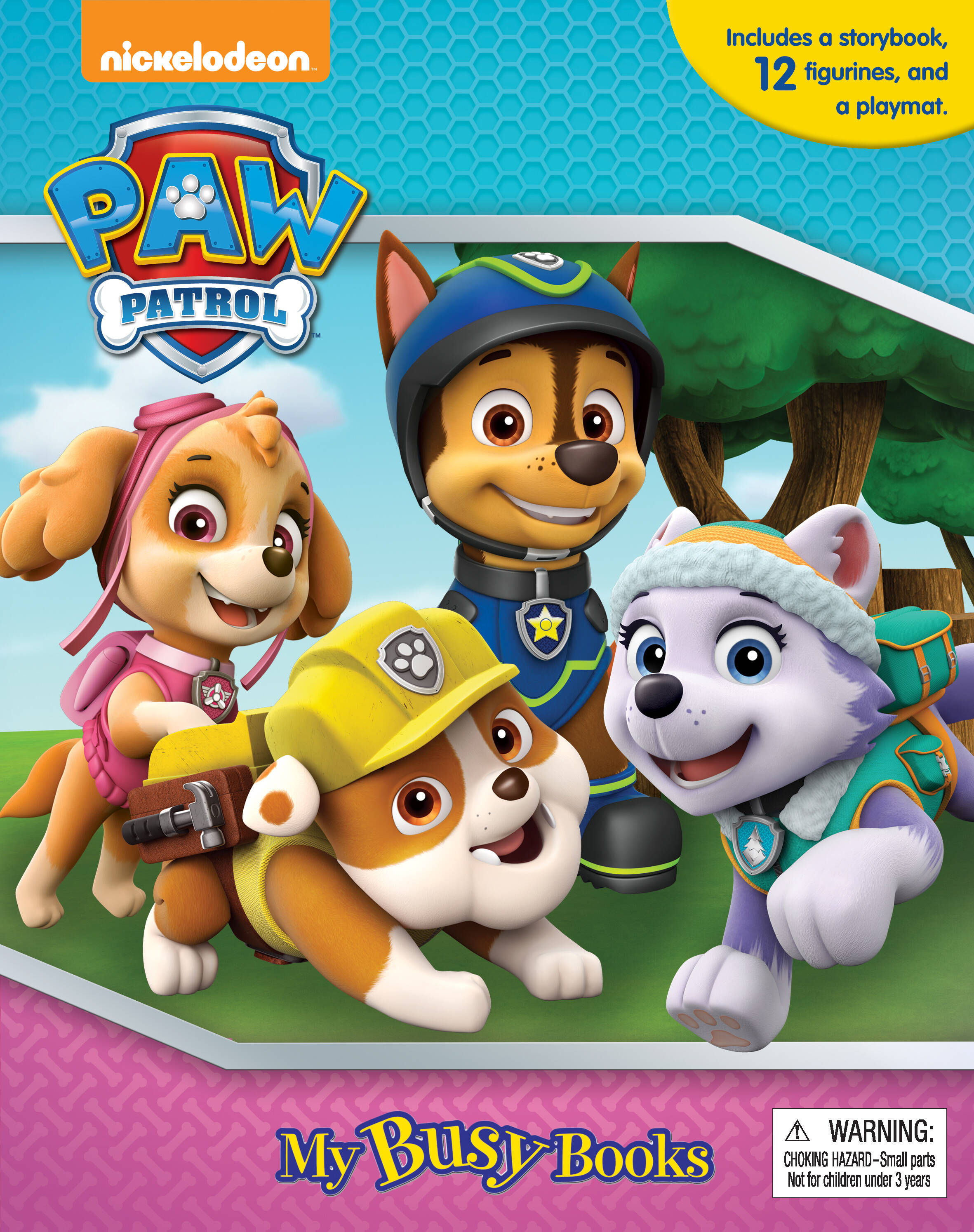 Paw Patrol (Pink) - My Busy Book