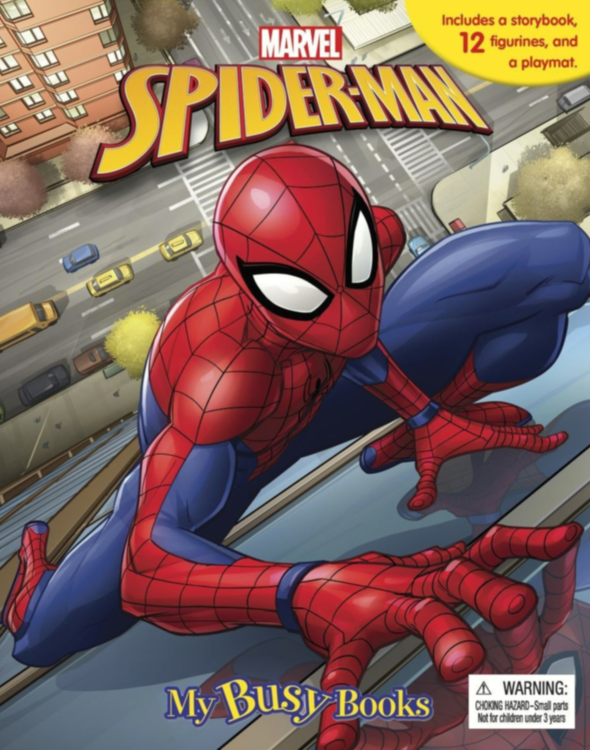 Spider-Man - My Busy Book