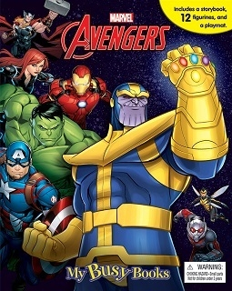 Avengers Infinity War - My Busy Book