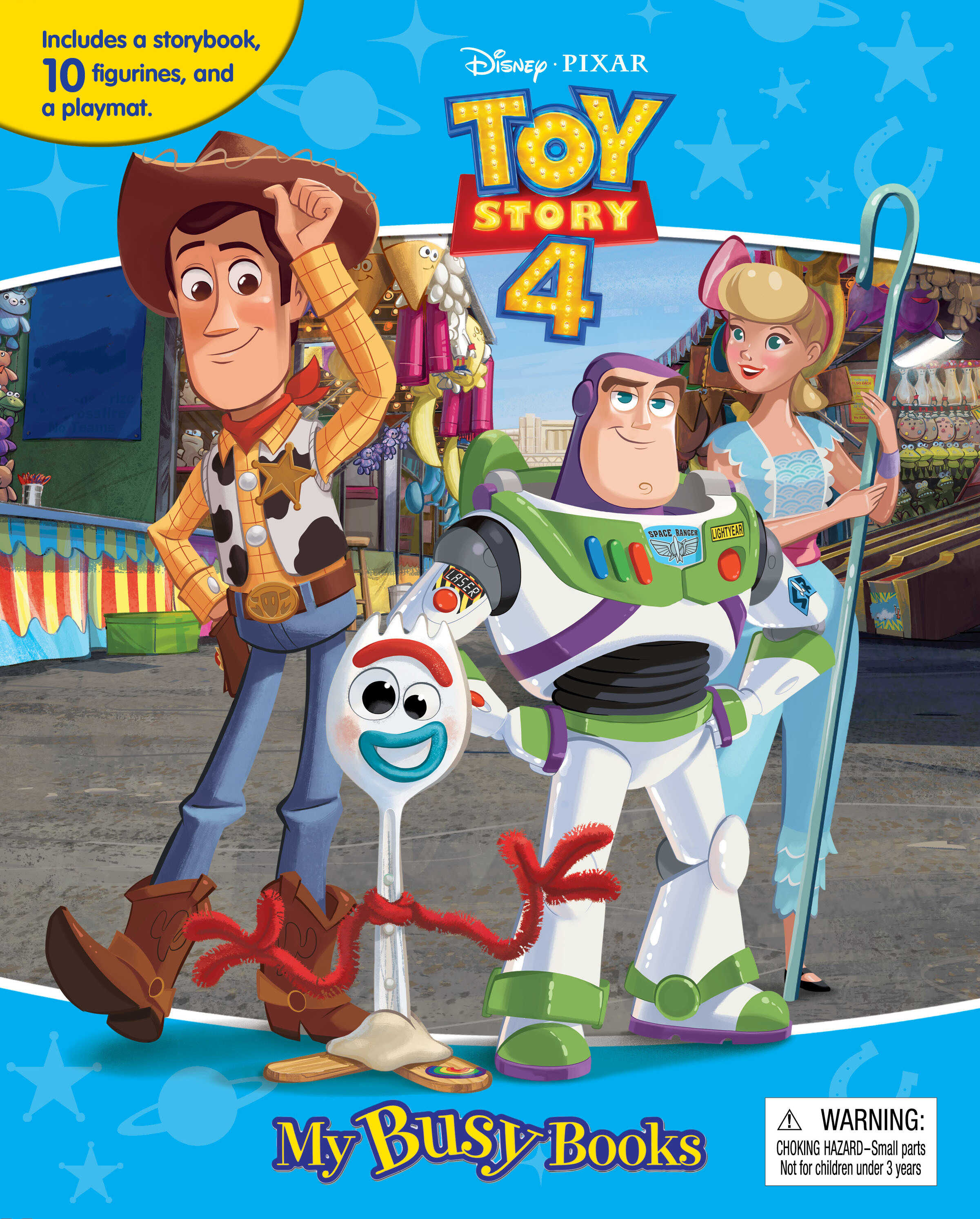 Disney Toy Story 4 - My Busy Book