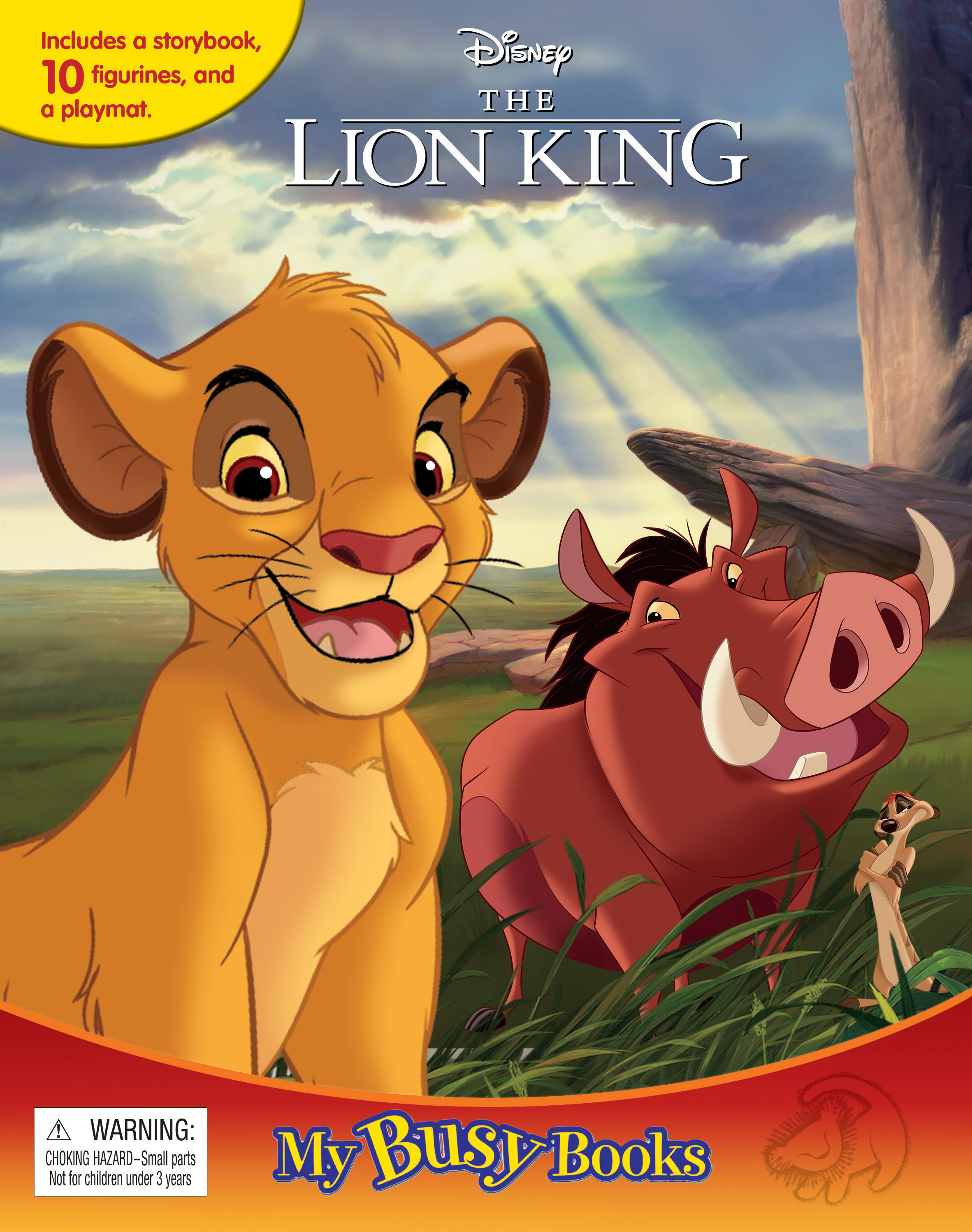 Disney Lion King - My Busy Book