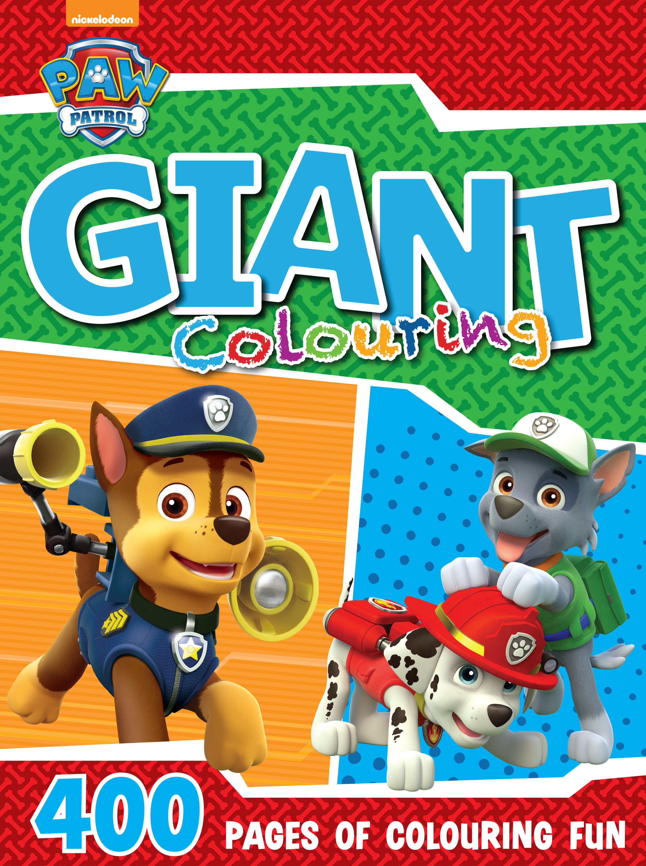 Paw Patrol - 400pg Giant Colouring Book