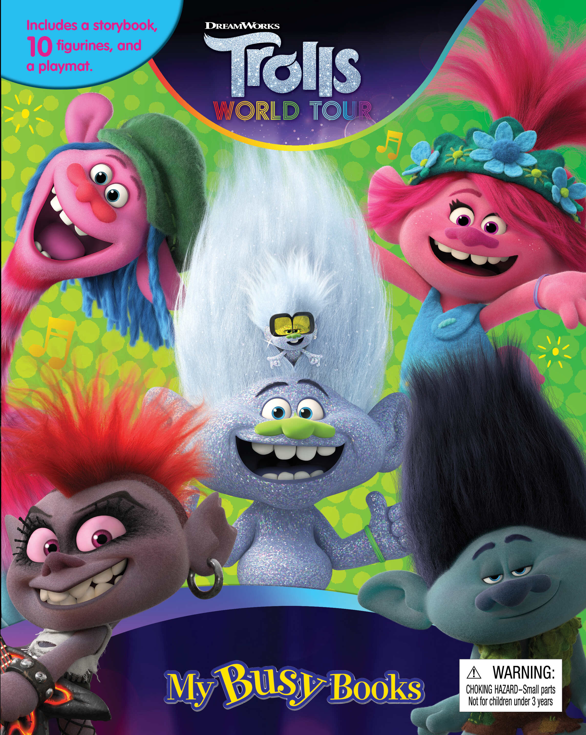 Trolls 2 - My Busy Books