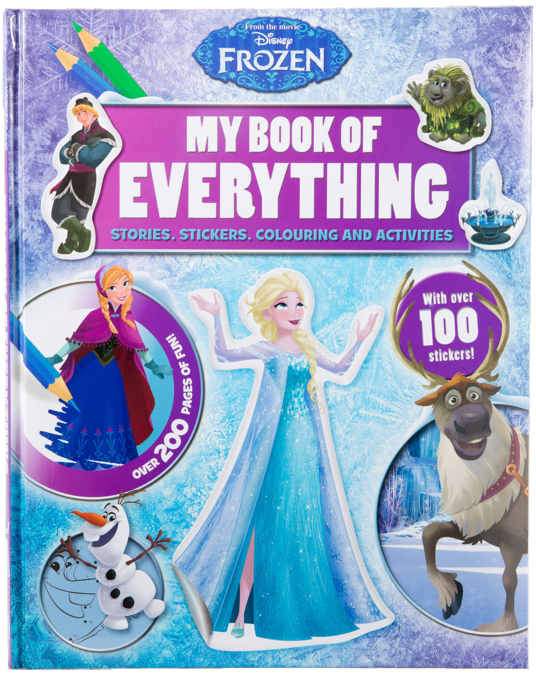 Disney Frozen - My Book Of Everything