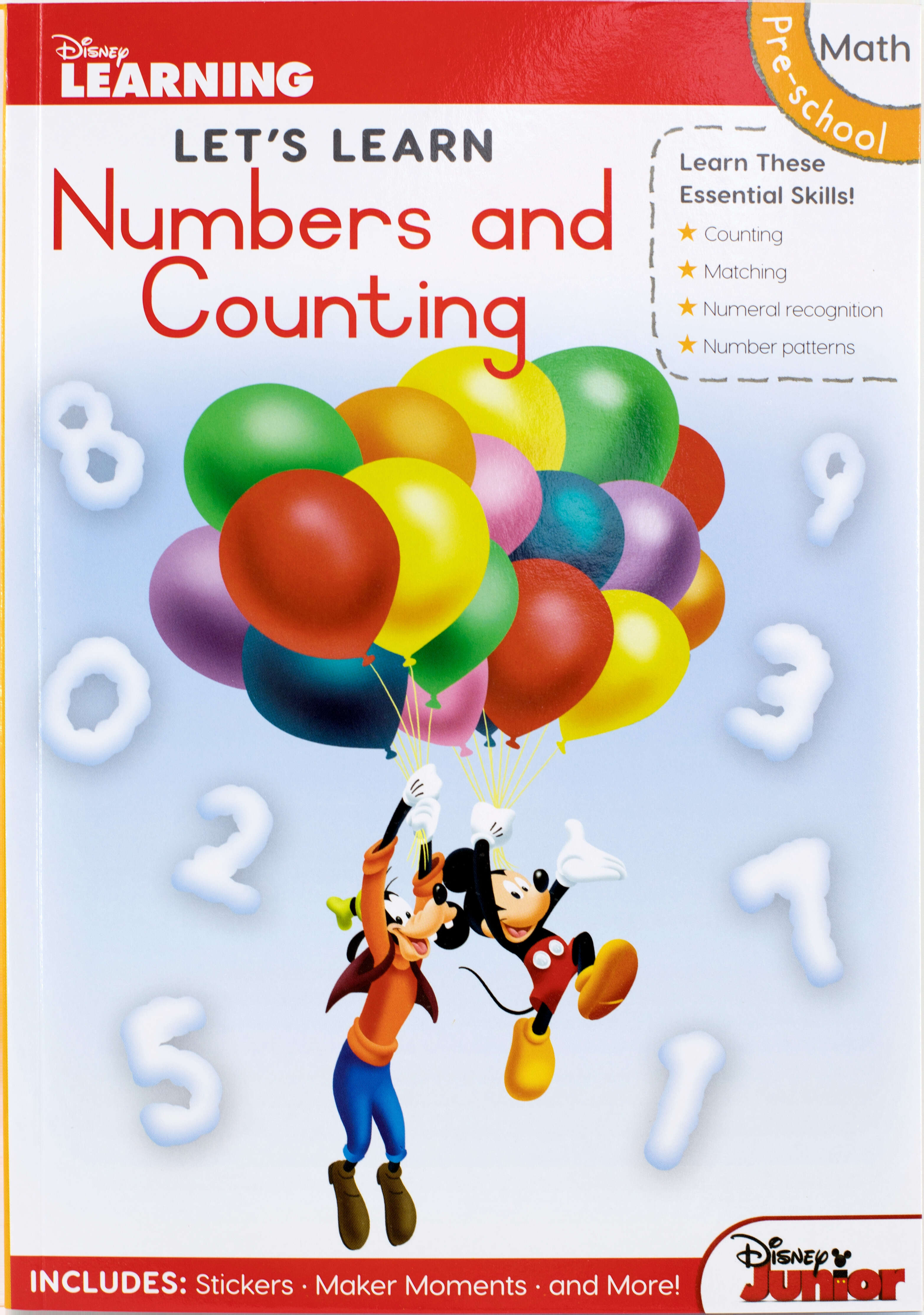 Disney Let's Learn - 80pg Numbers & Counting
