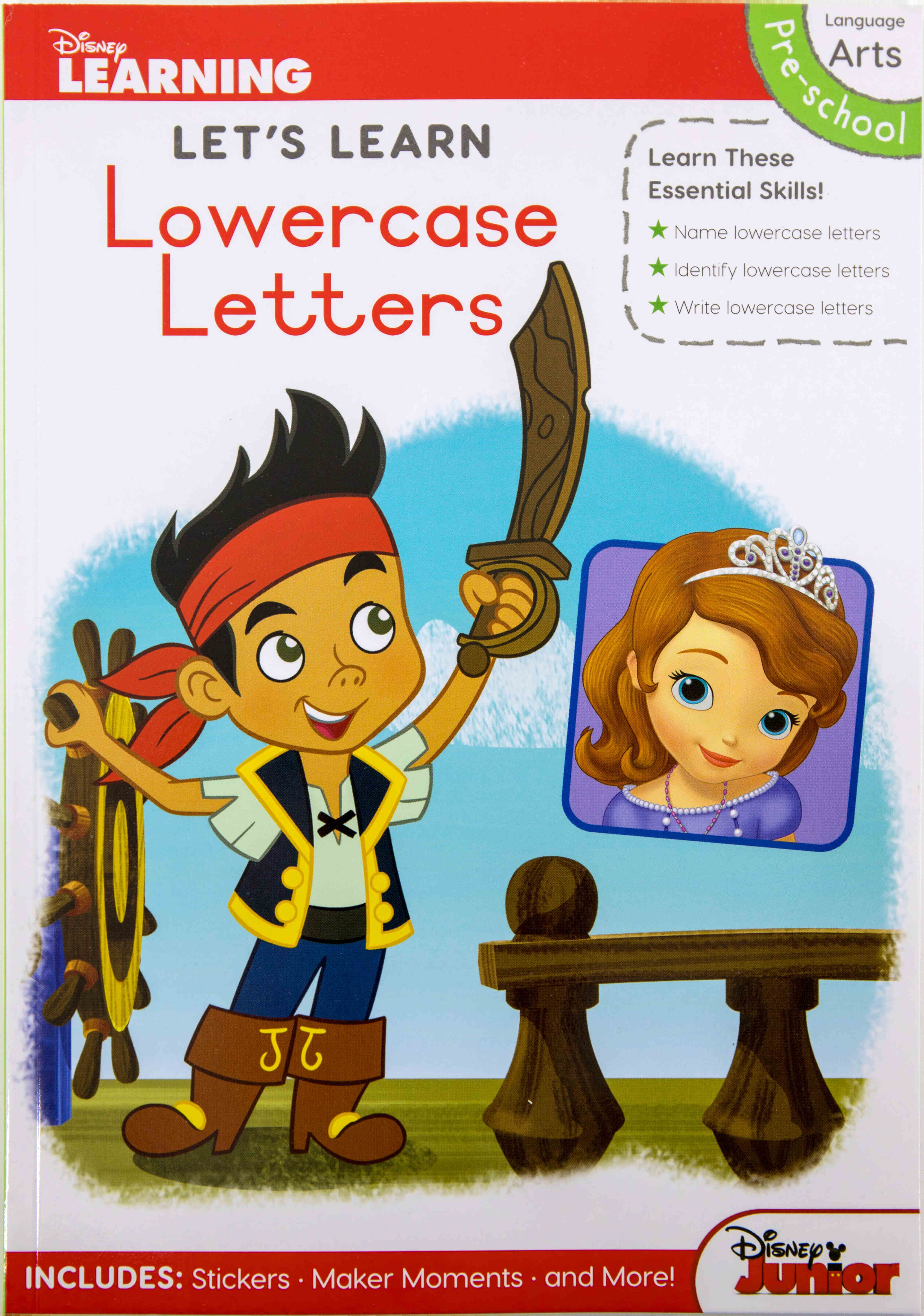 Disney Let's Learn - 80pg Lowercase Letters