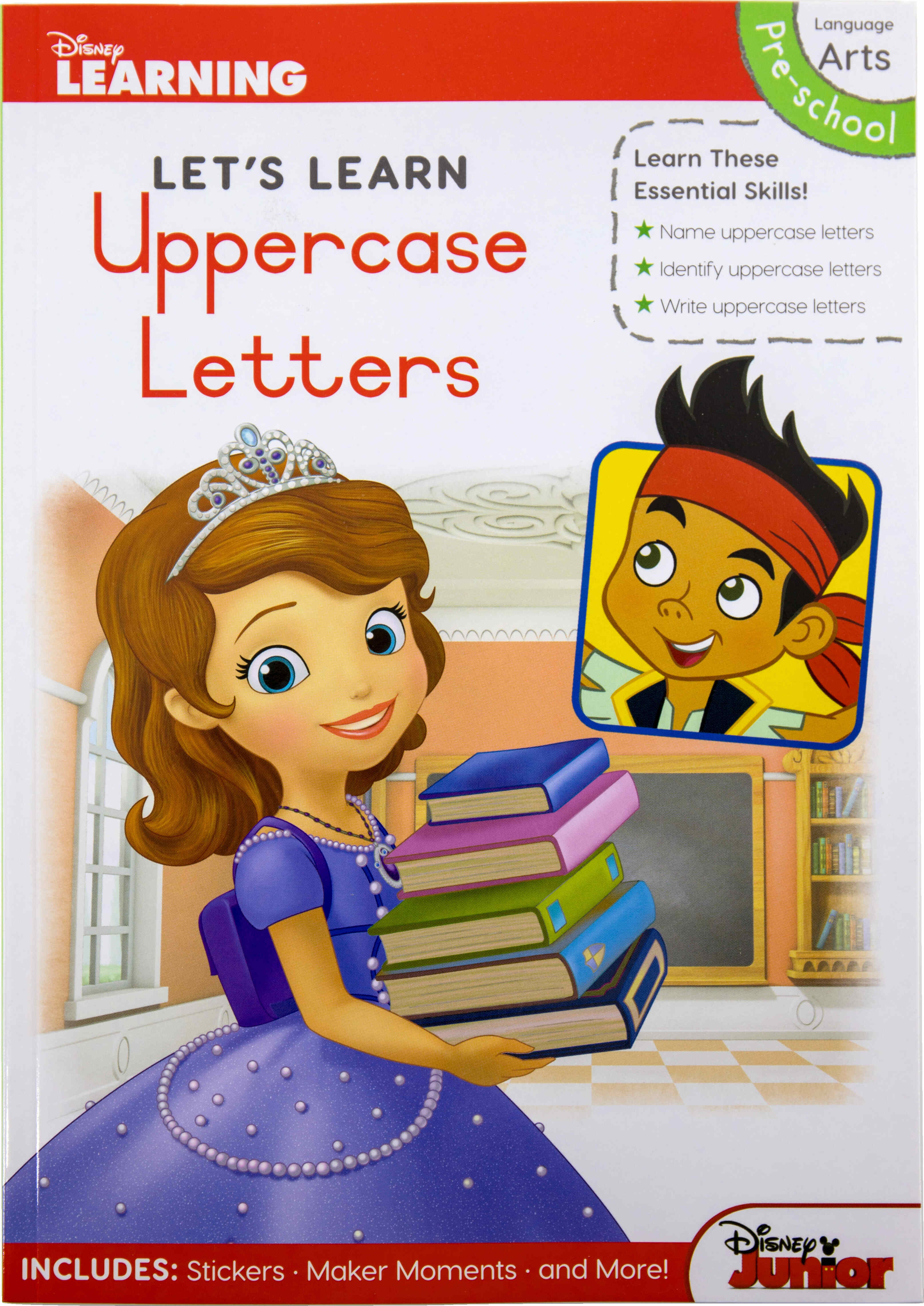 Disney Let's Learn - 80pg Uppercase Letters