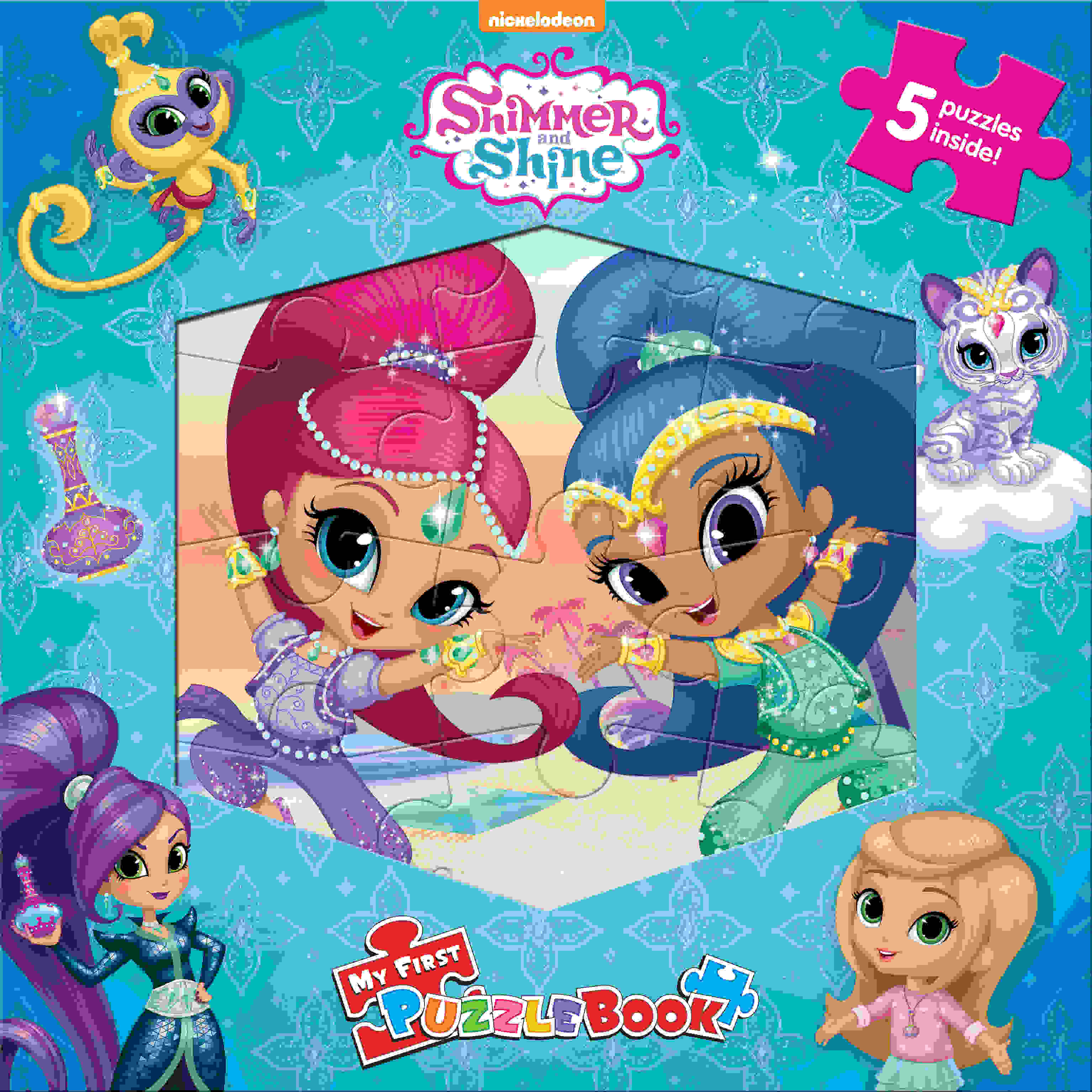 Shimmer & Shine - My First Puzzle Book
