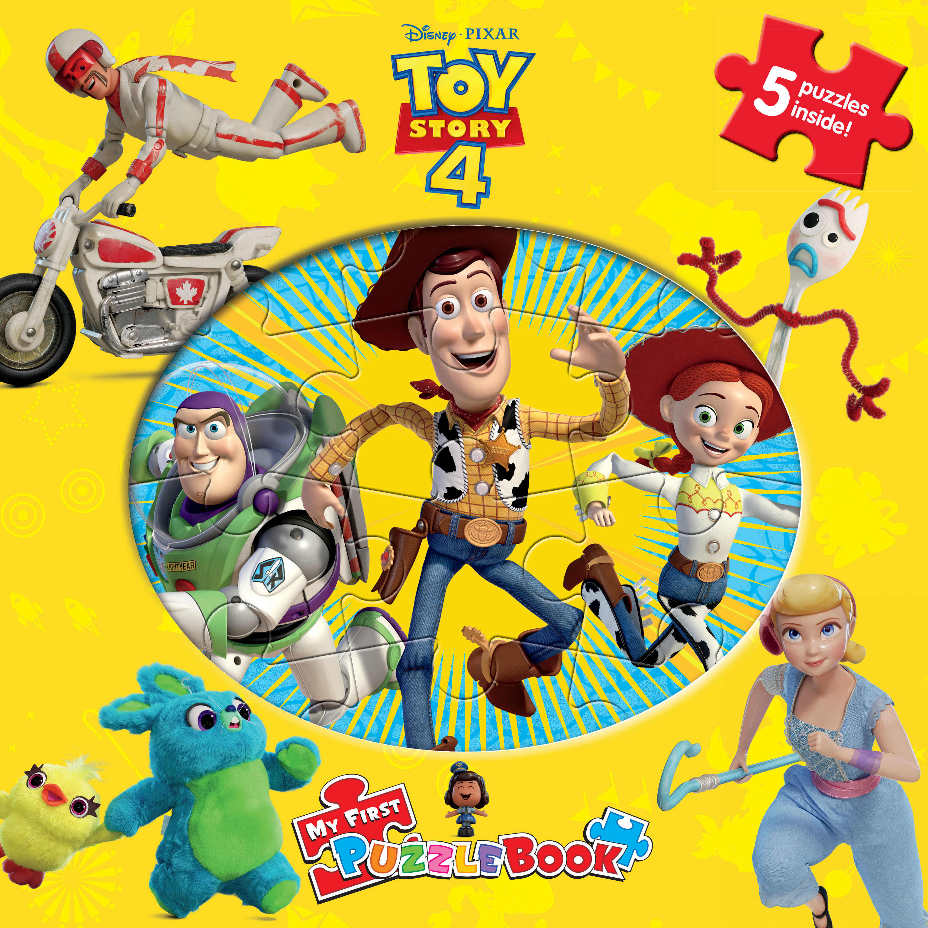Disney Toy Story 4 - My First Puzzle Book