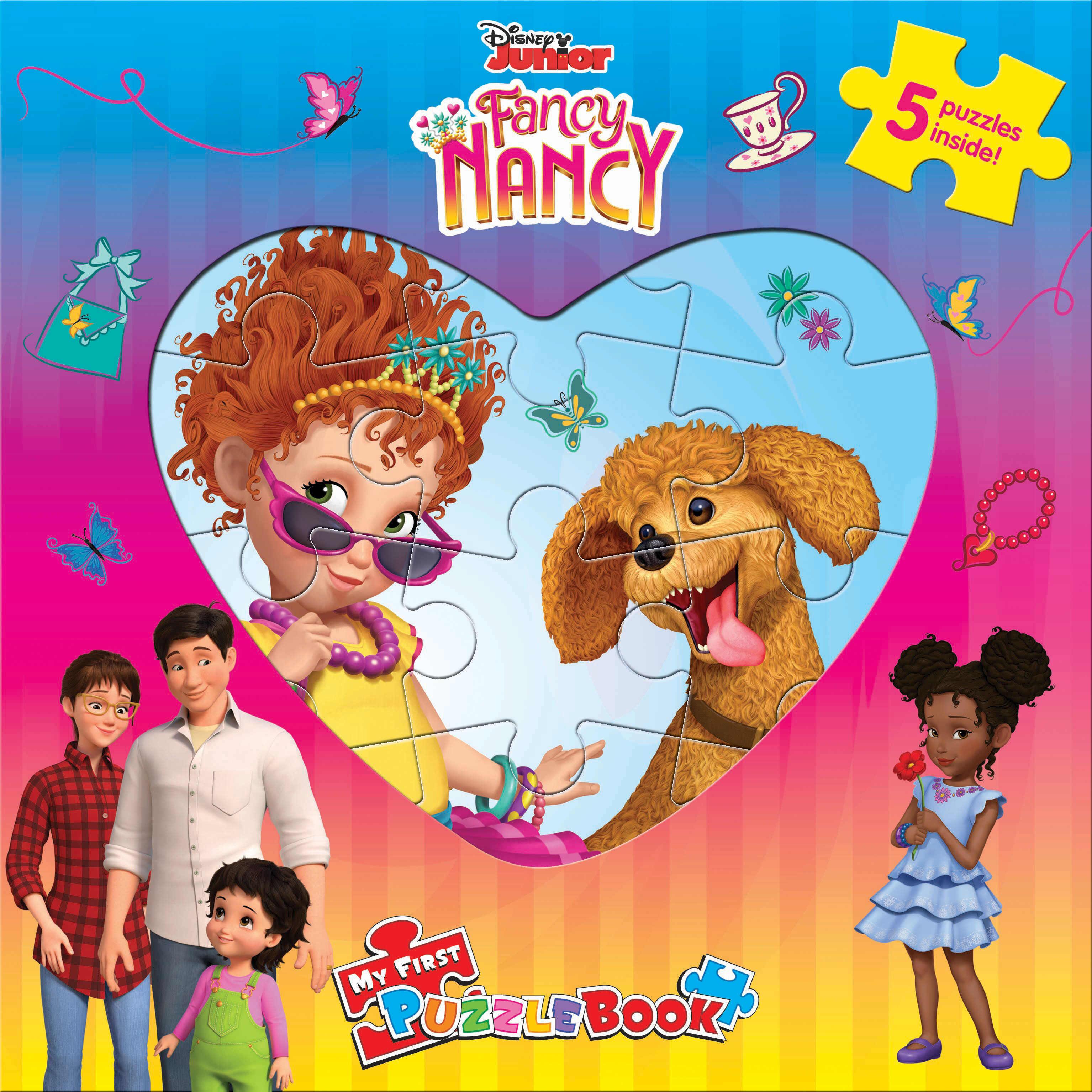 Disney Fancy Nancy - My First Puzzle Book