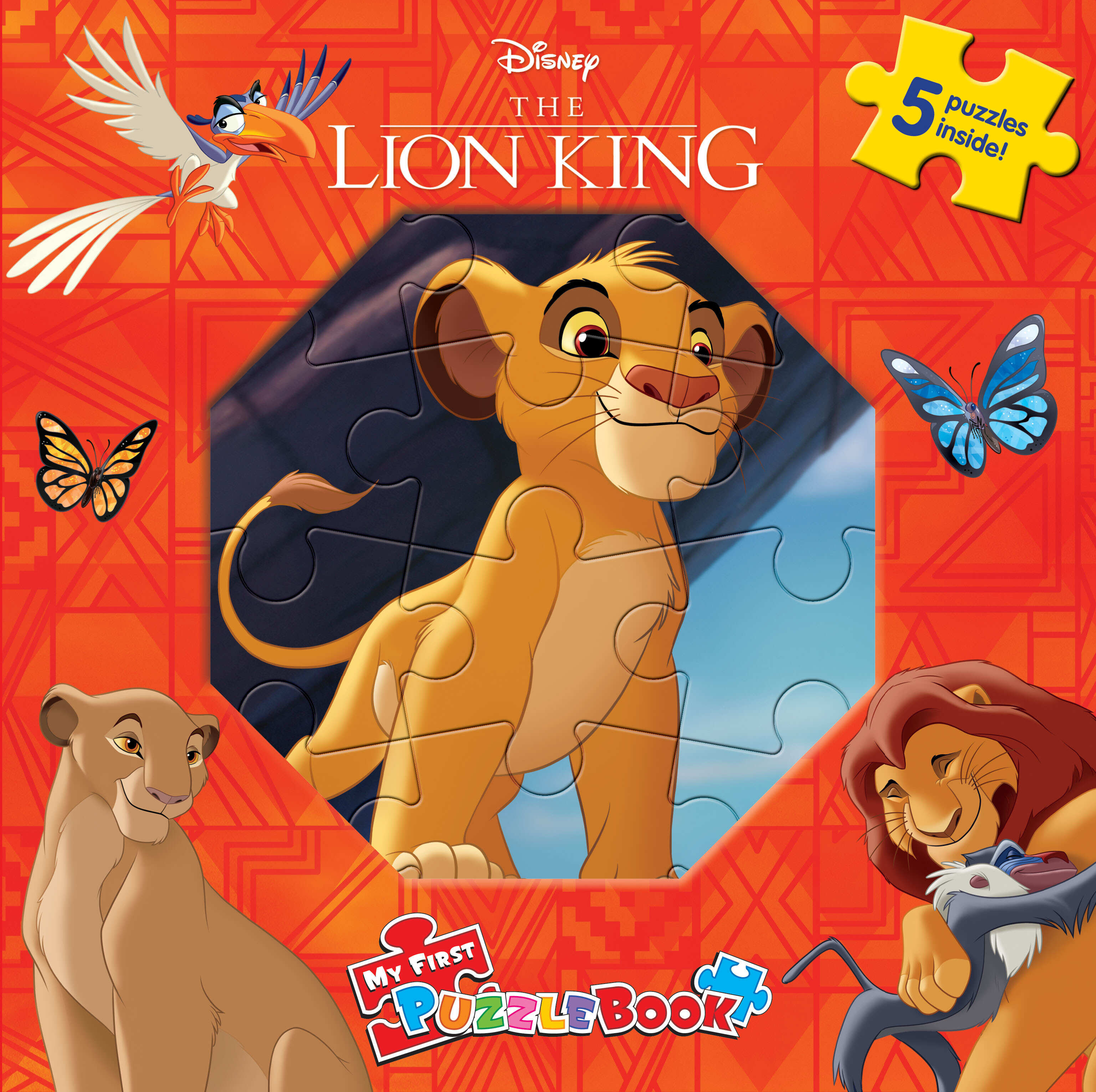 Disney Lion King - My First Puzzle Book