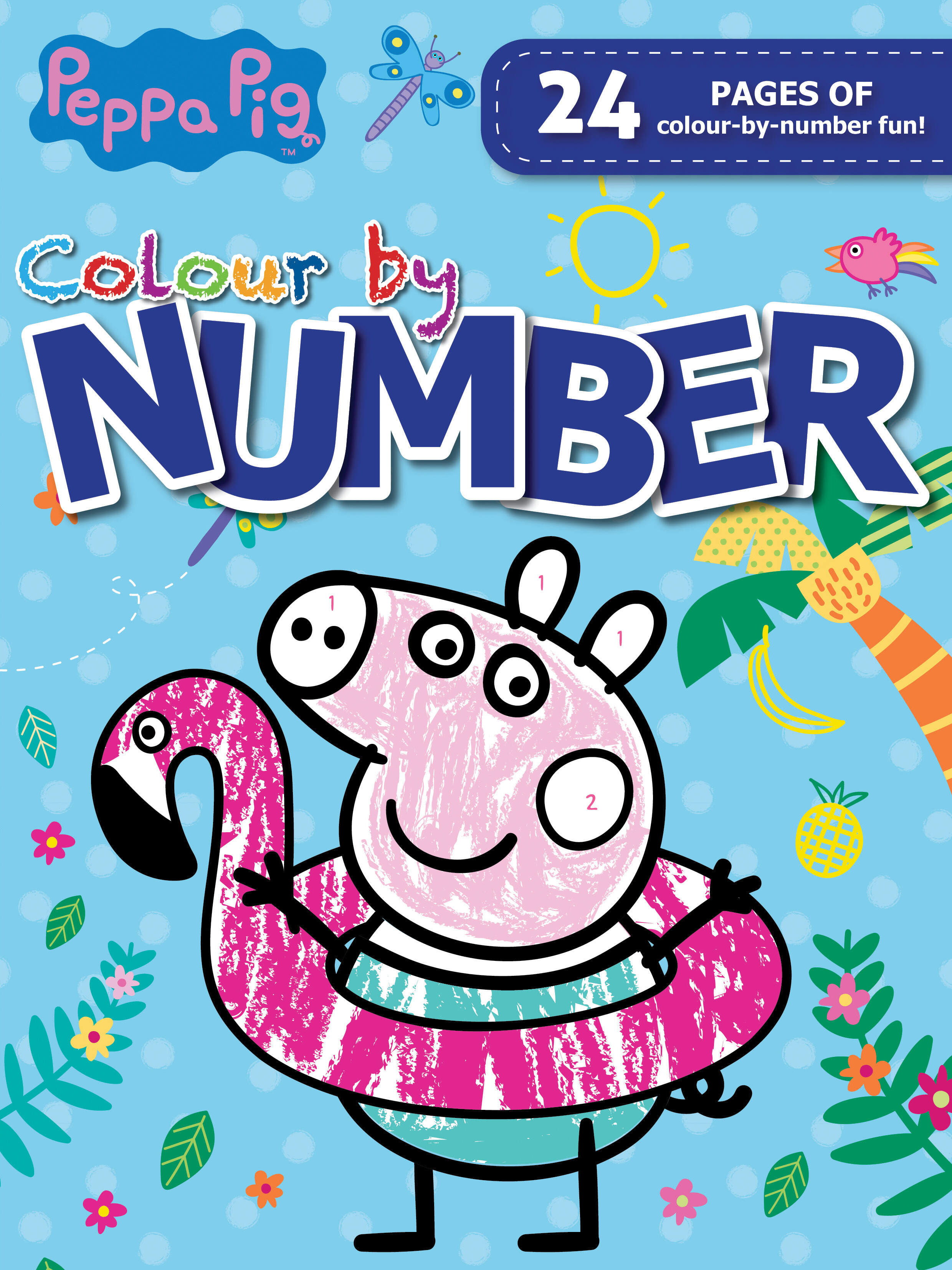 Peppa Pig - Colour By Number