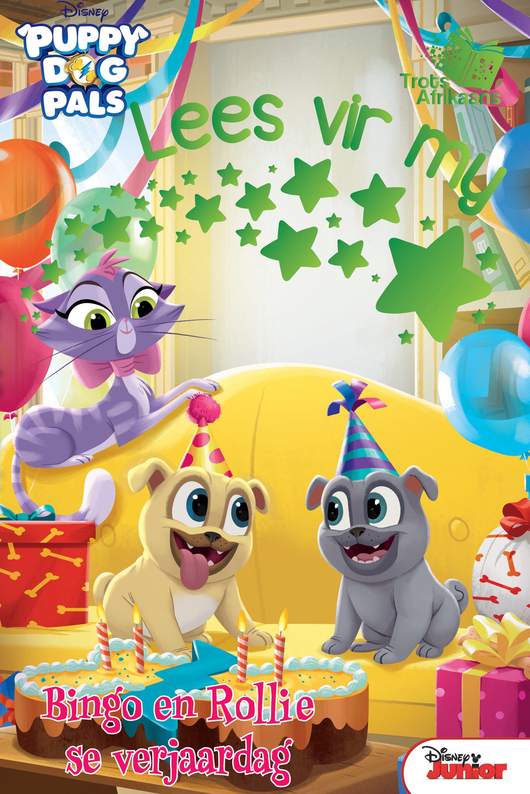 Disney Puppy Dog Pals - Lees Vir My