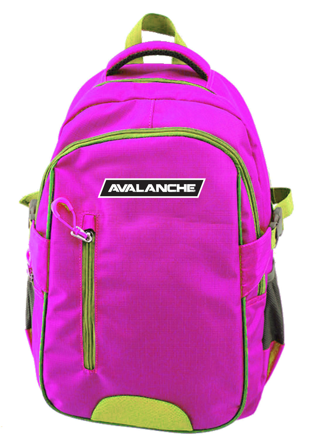 Avalanche Standard Student Backpack - Pink-Lime