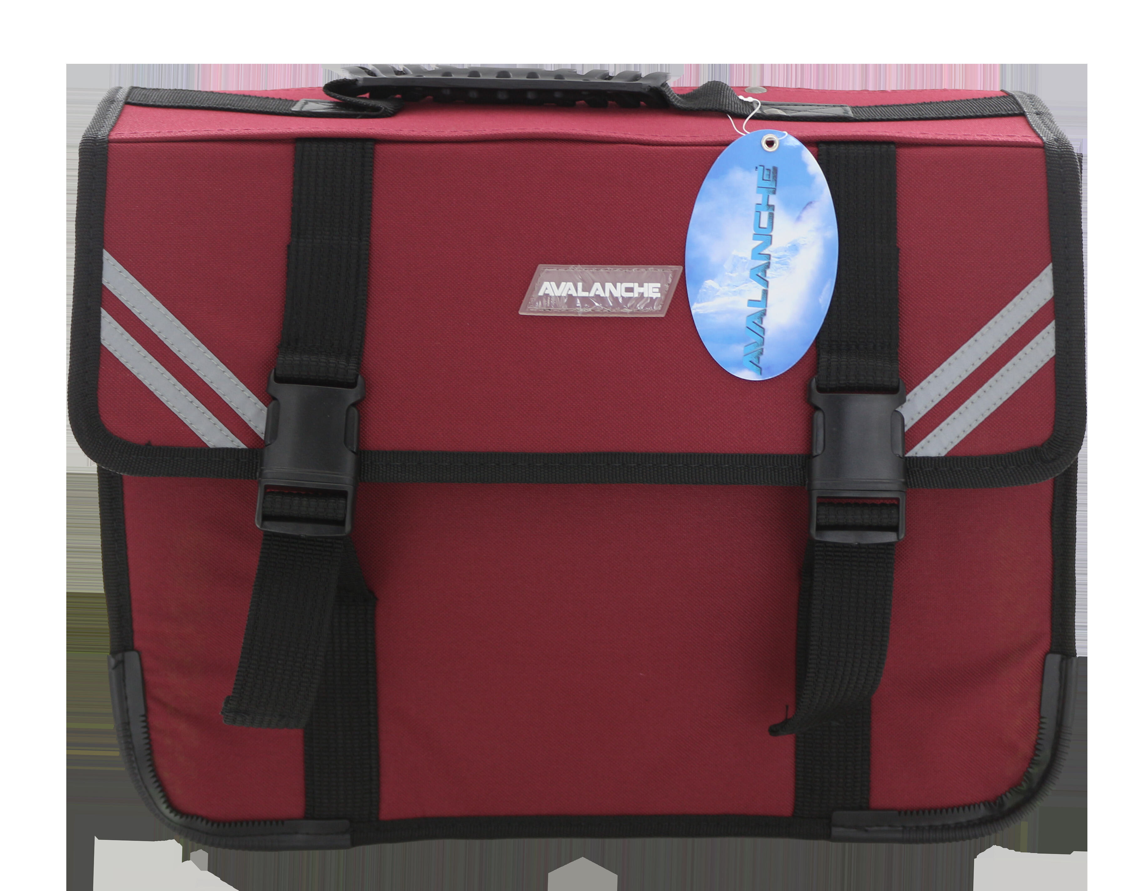 Avalanche Standard Student Suitcase - 7 Compartment - Maroon