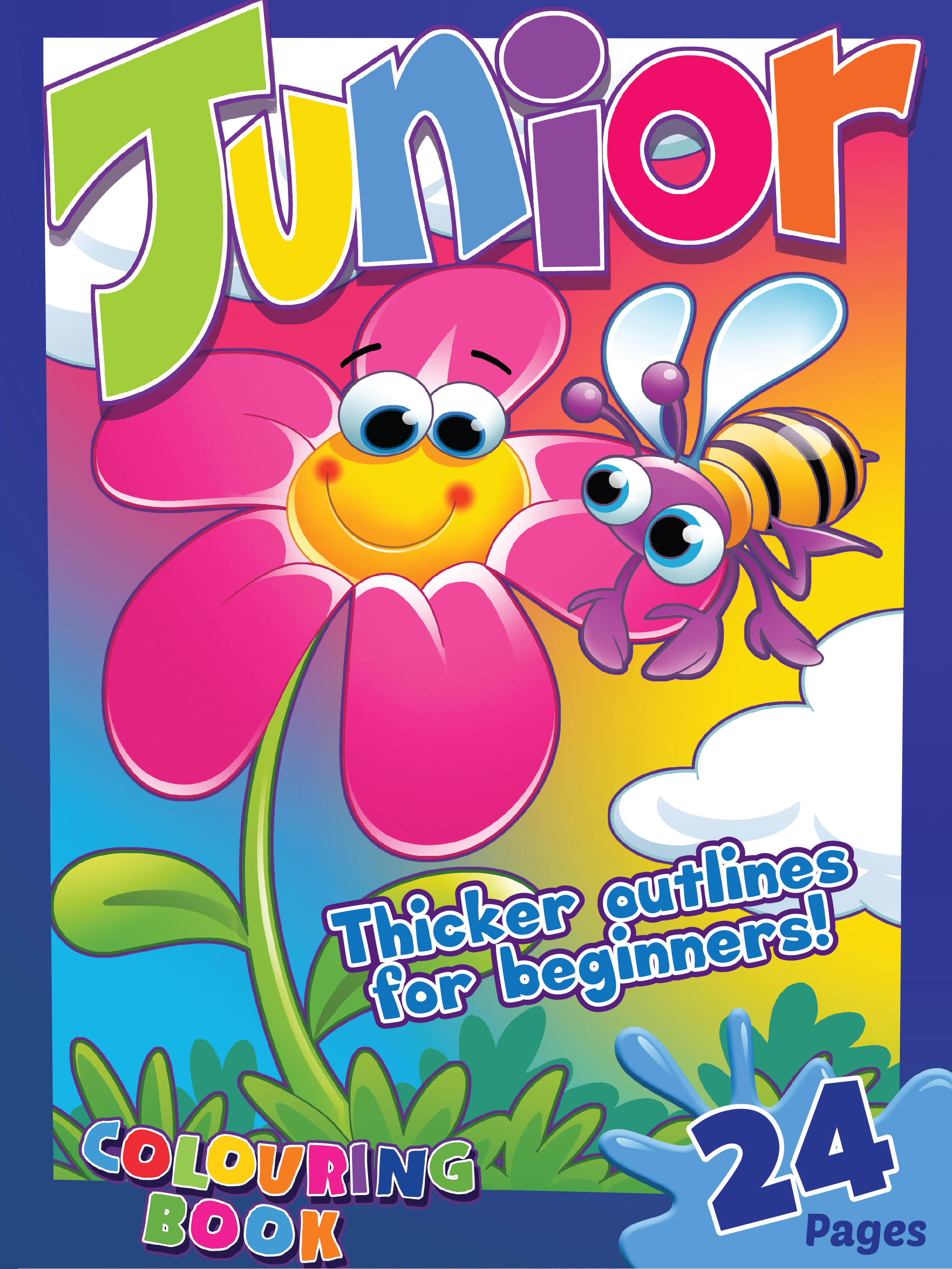 Butterfly Junior Colouring Book 24 Pages