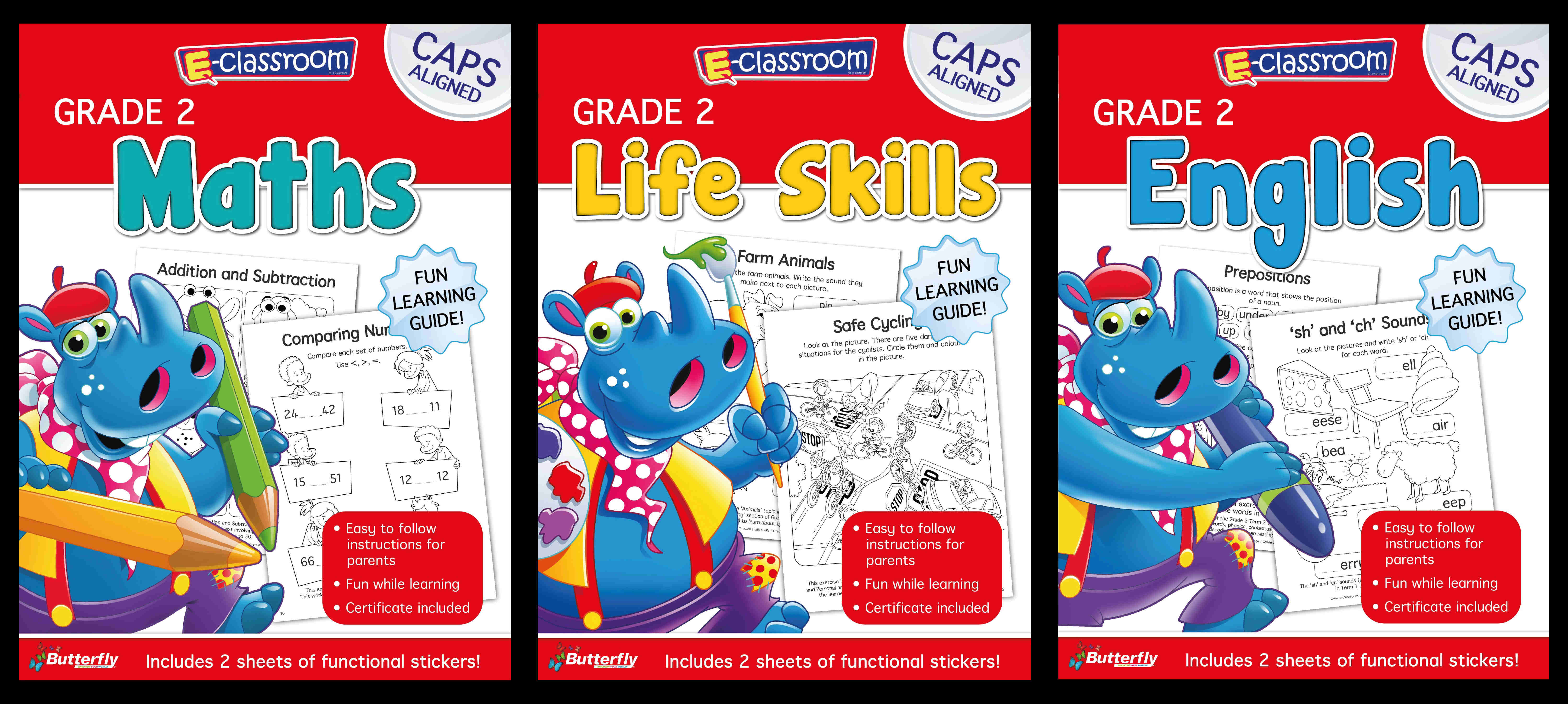 Assorted - E-Classroom Workbooks - Gr 2