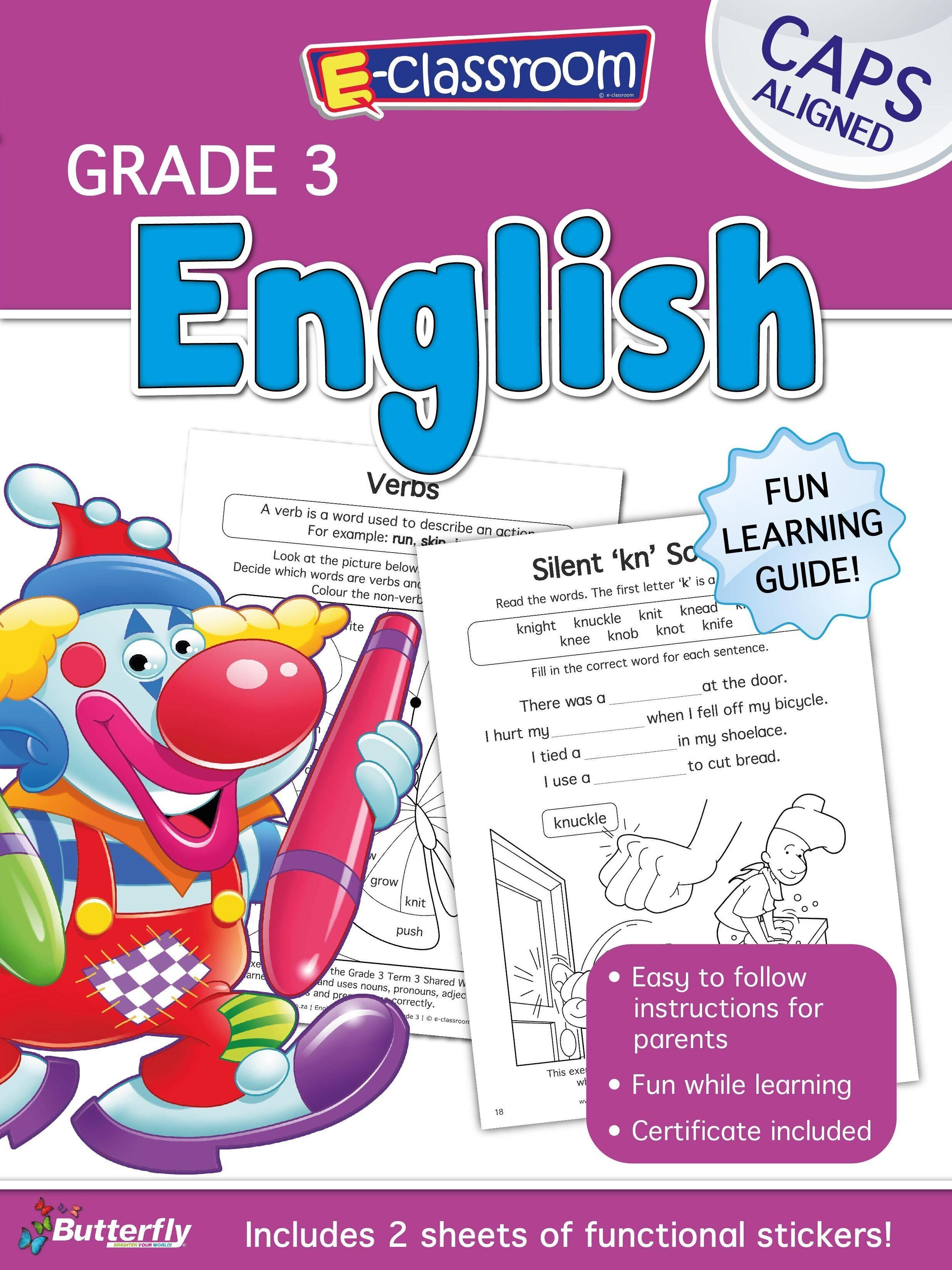 E-Classroom Workbook - English - Gr 3