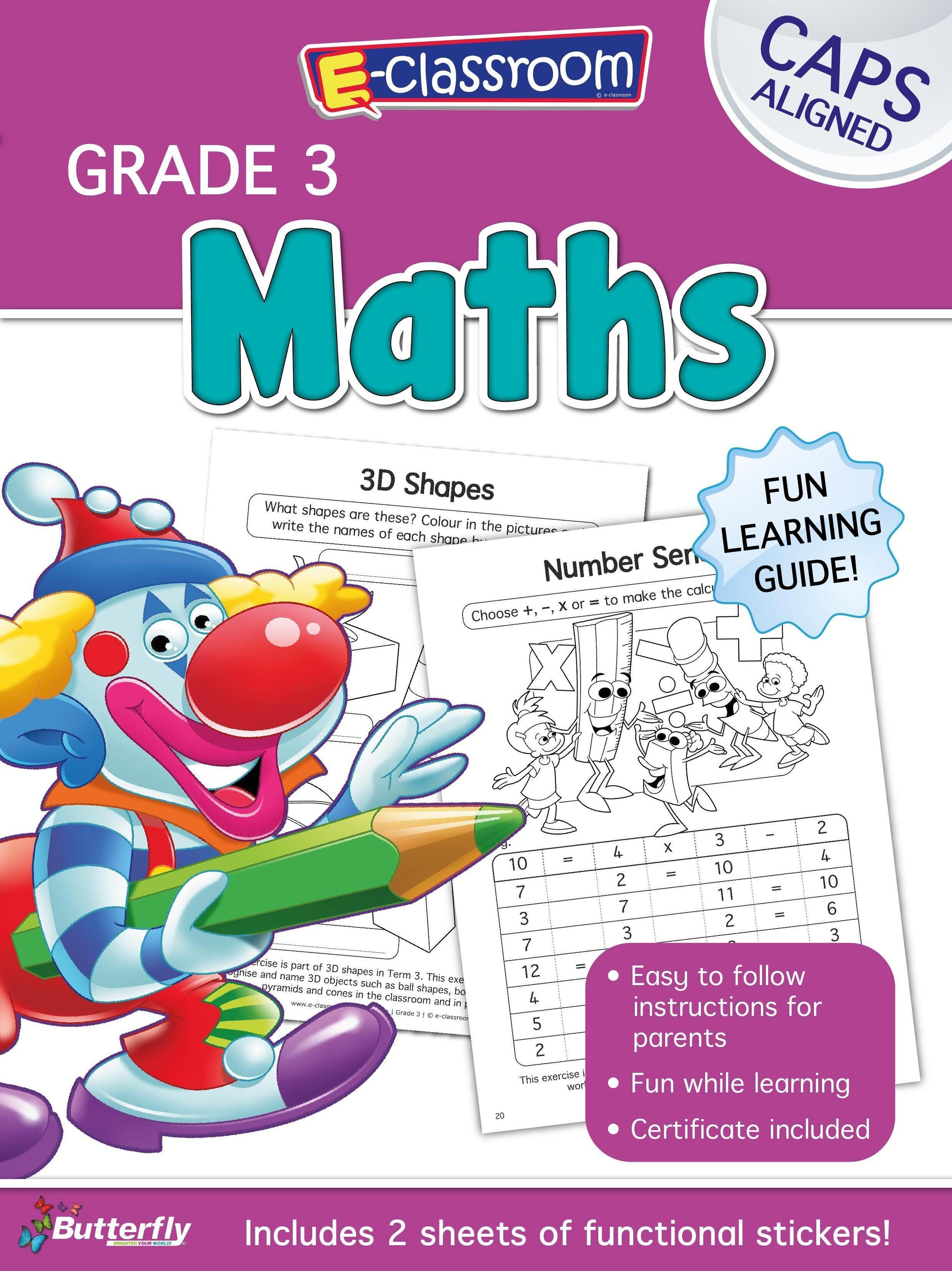 E-Classroom Workboot - Maths - Gr 3