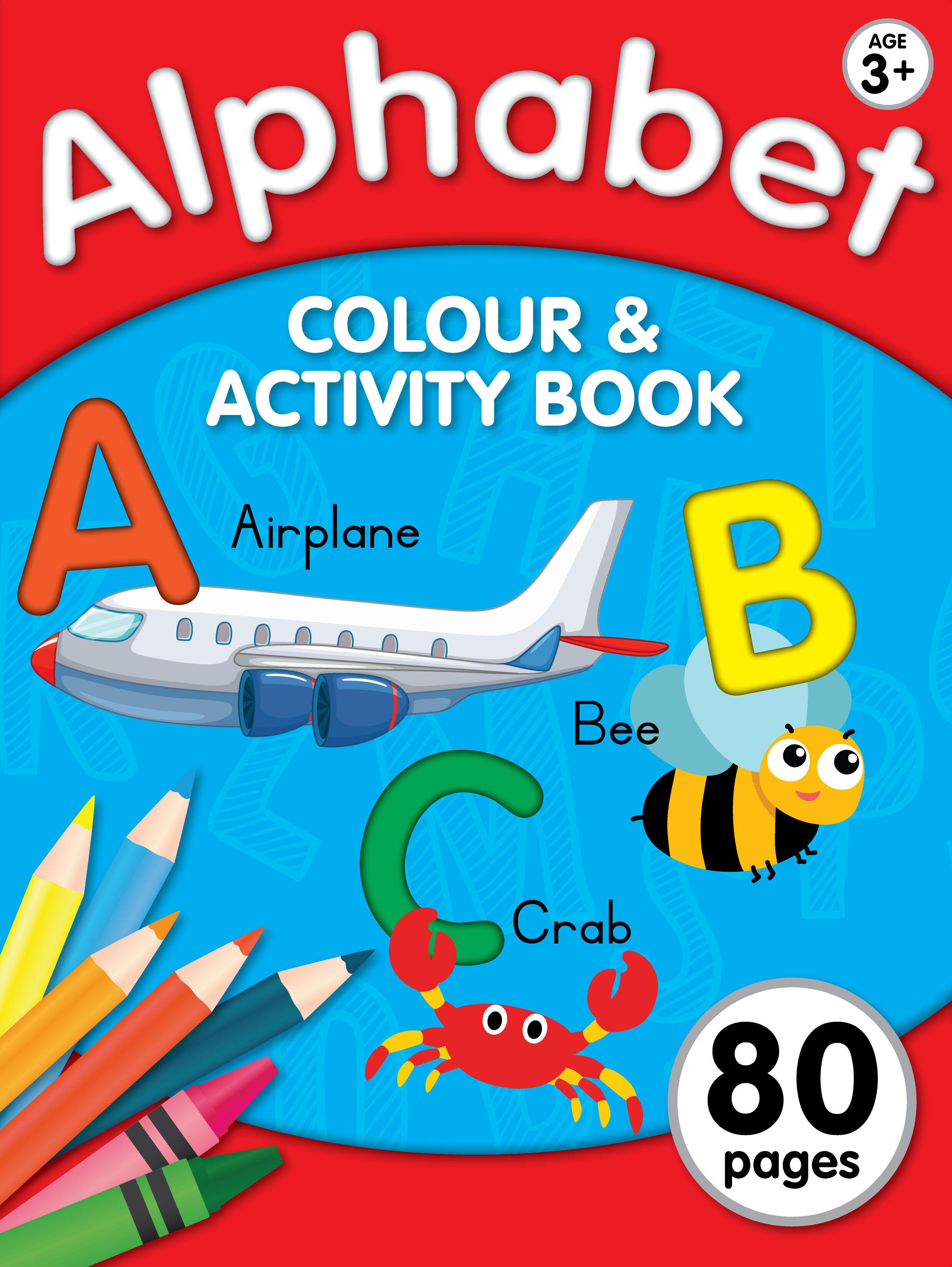 Workbook 80pg - Alphabet