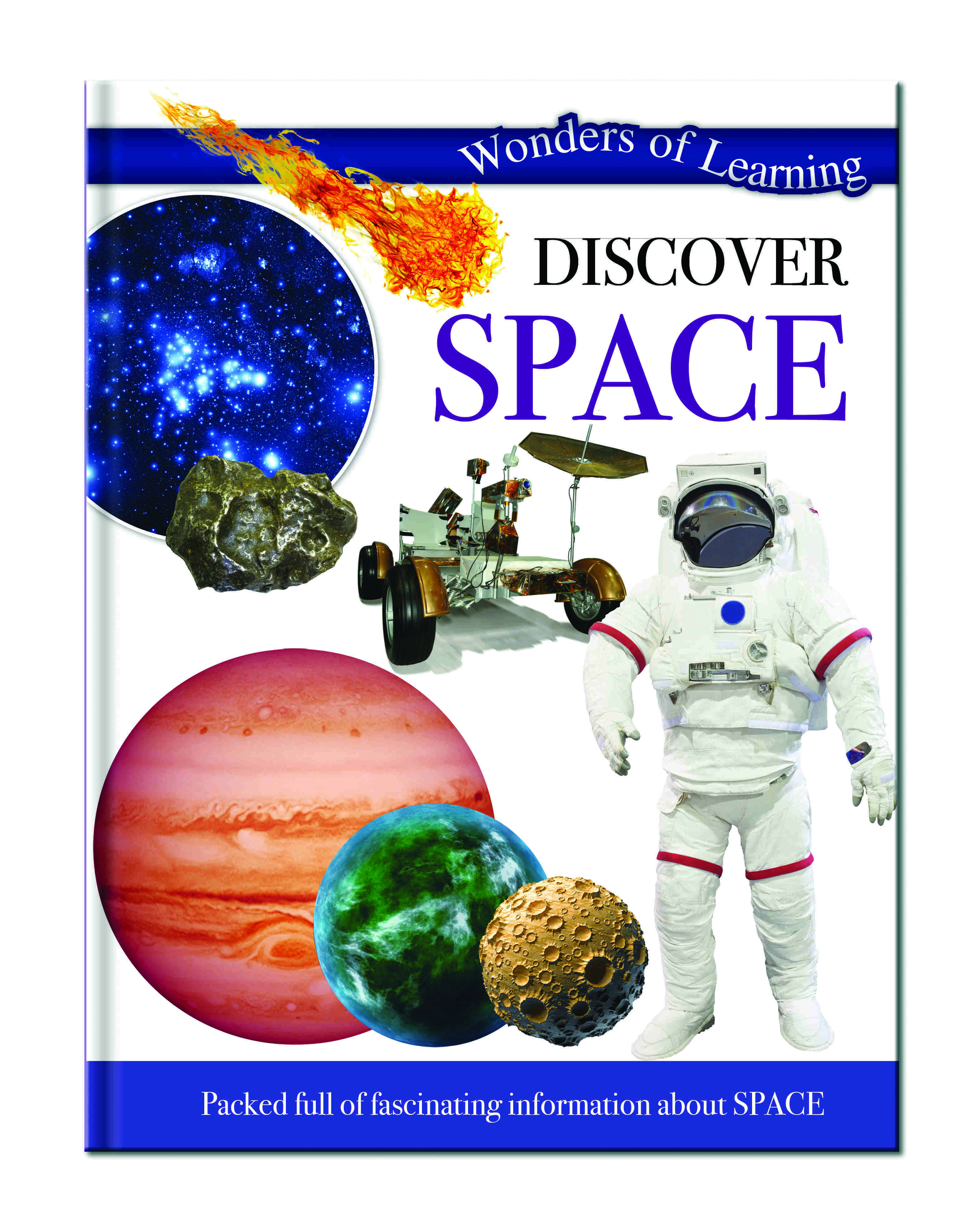 Wonders Of Learning Book - Space