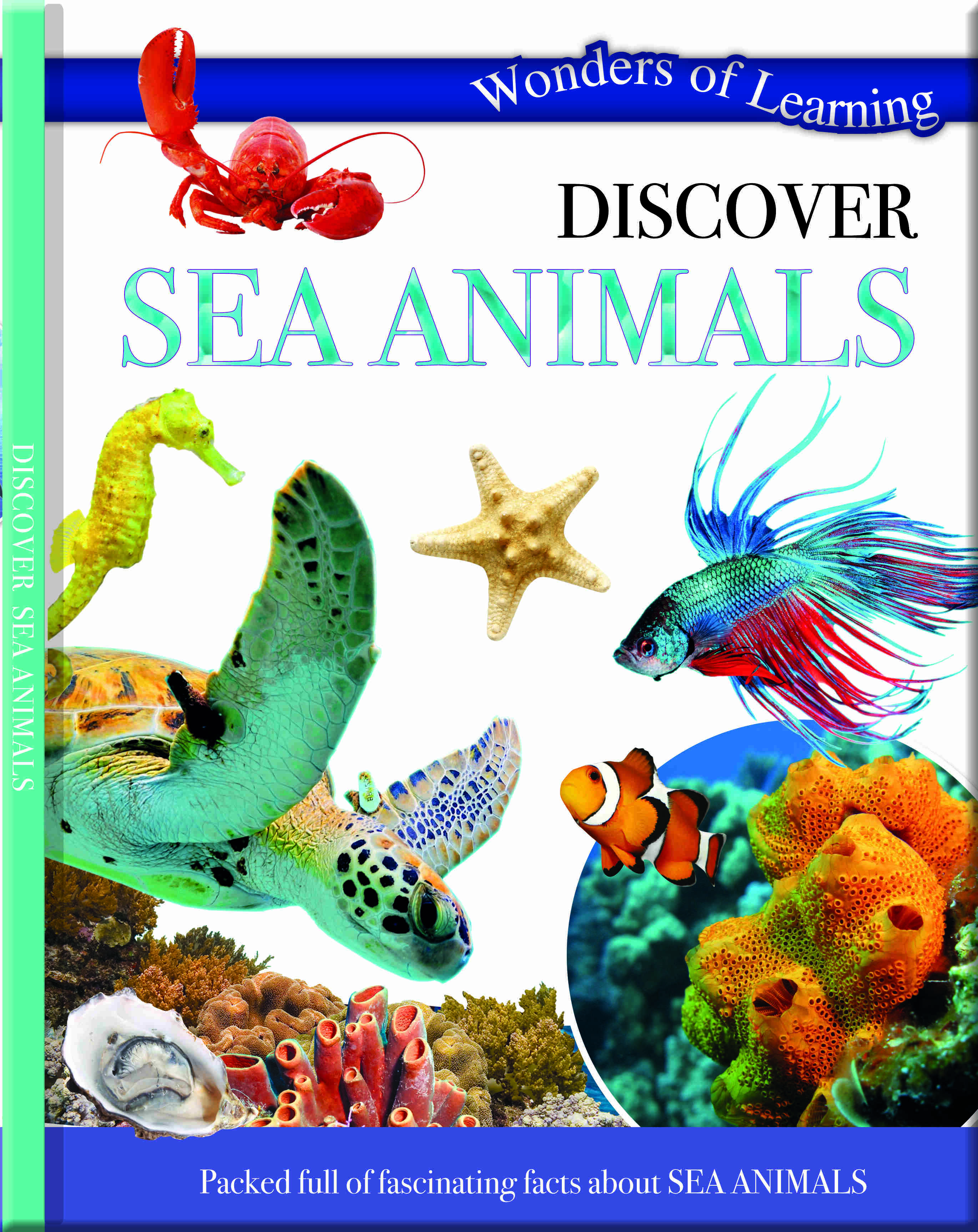 Wonders Of Learning Book - Sea Animals