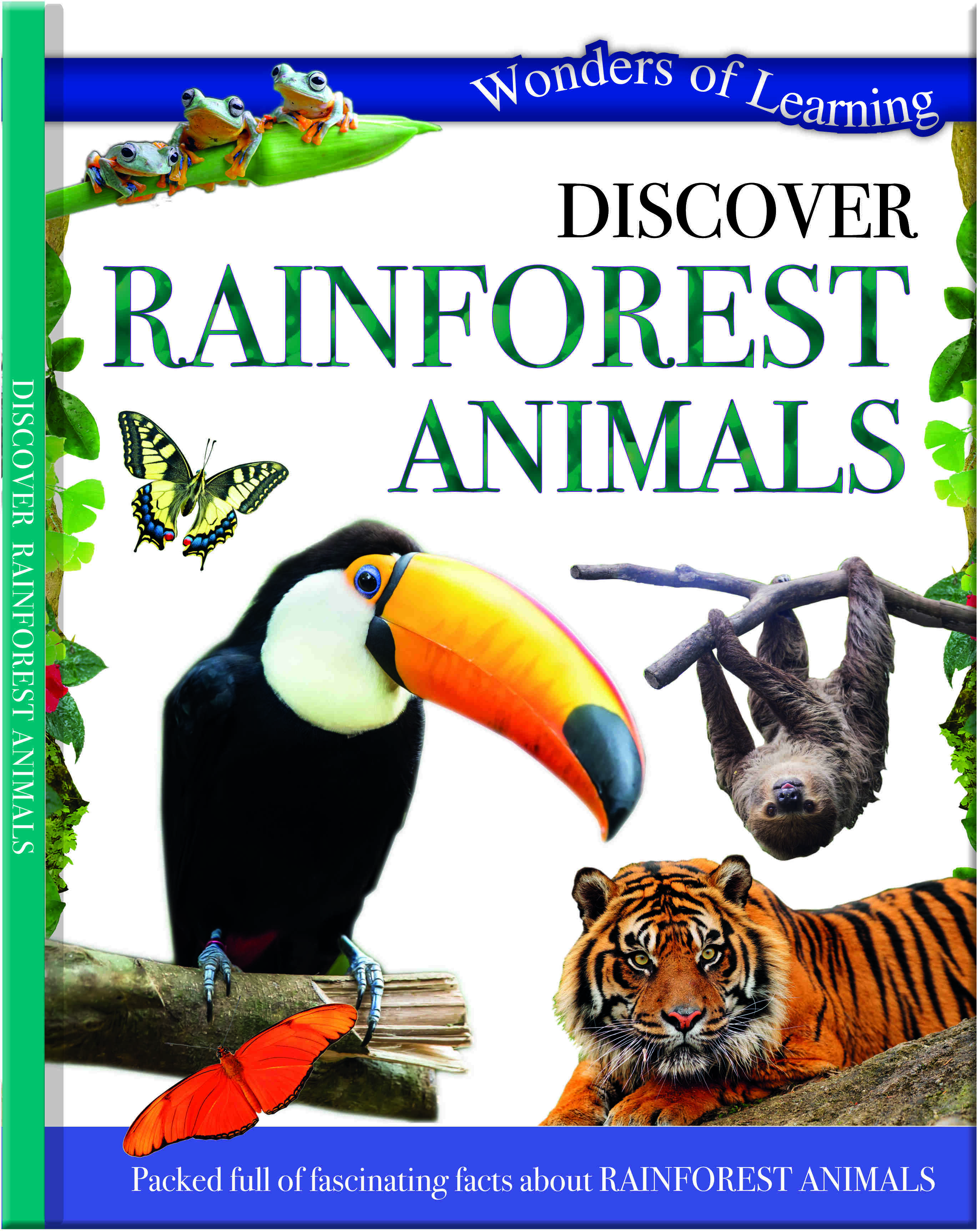Wonders Of Learning Book - Rainforest Animals
