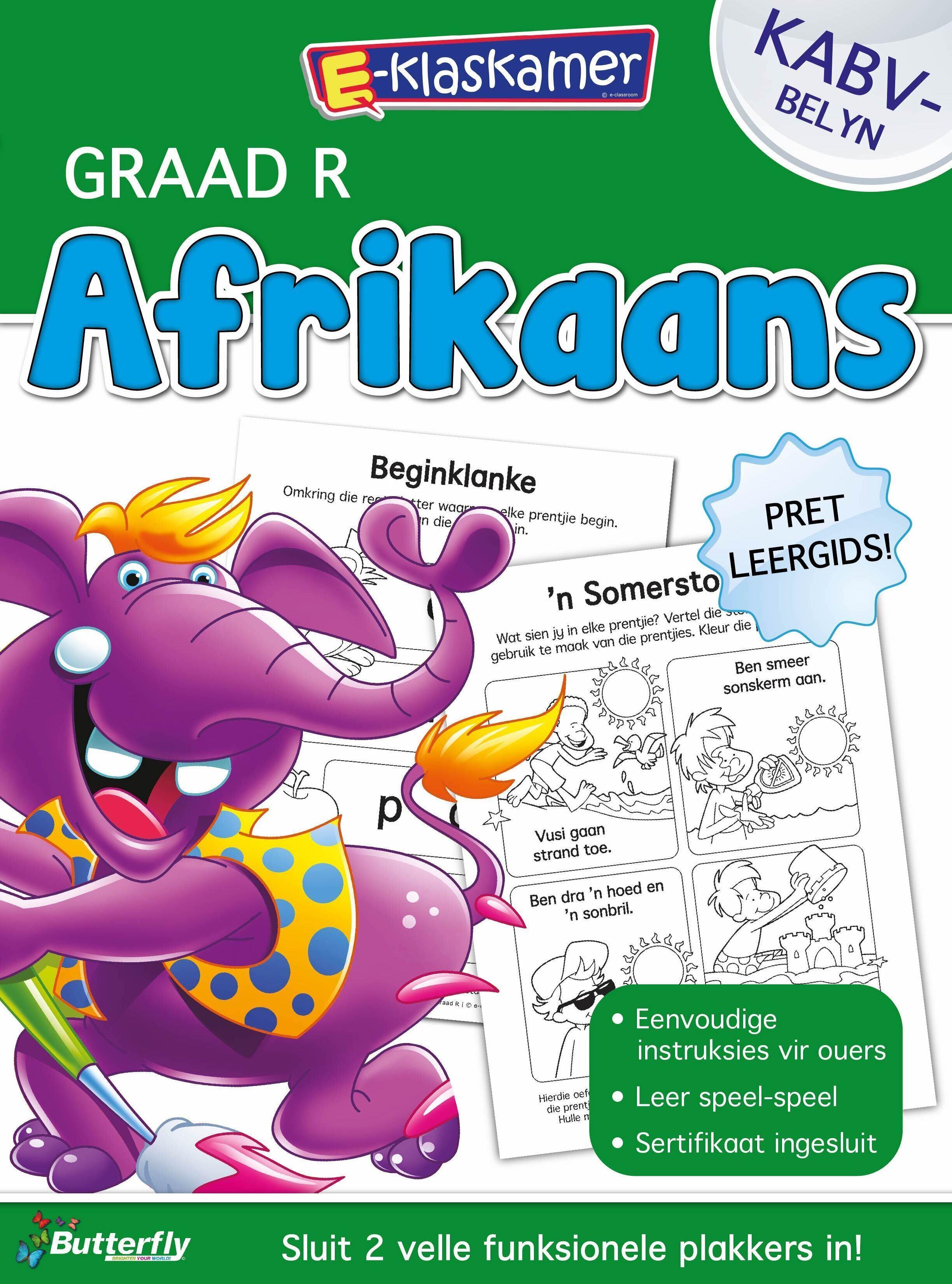 E-Klaskamer Werkboek - Afrikaans - Gr R
