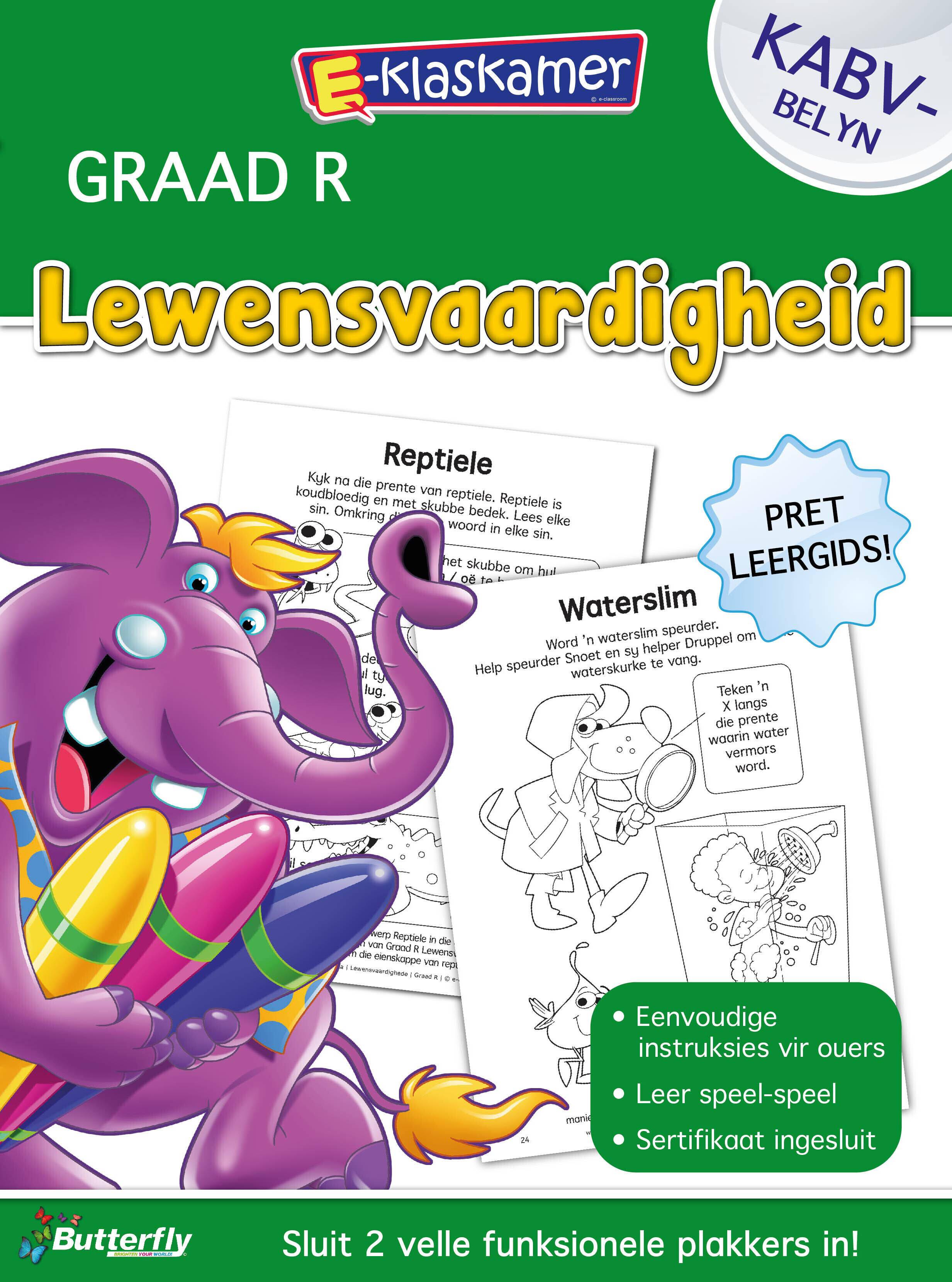 E-Klaskamer Werkboek - Lewensvaardigheid - Gr R