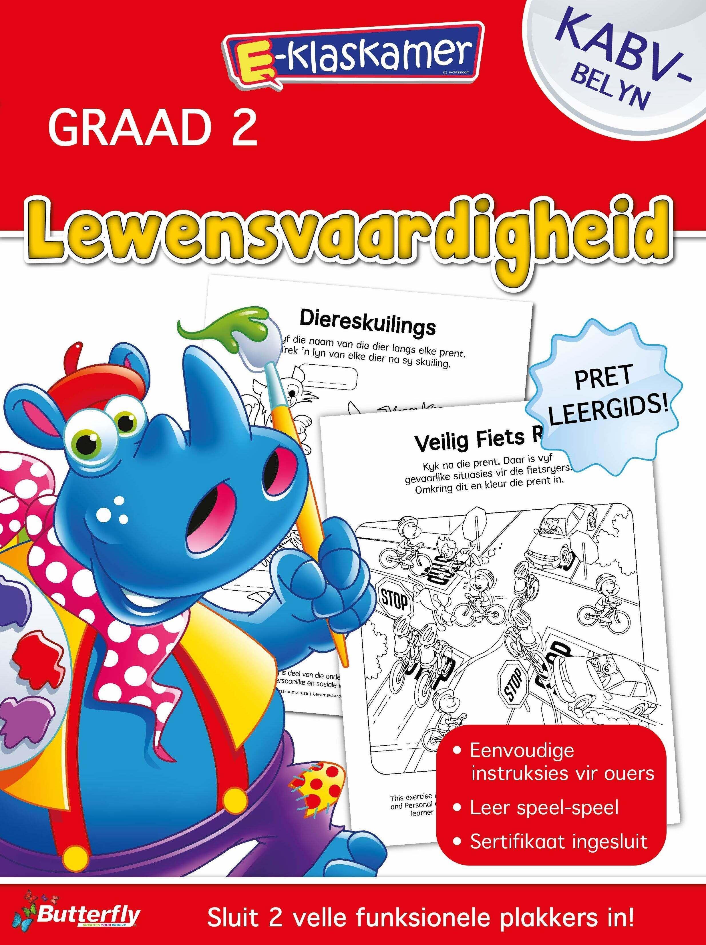 E-Klaskamer Werkboek - Lewensvaardigheid - Gr 2