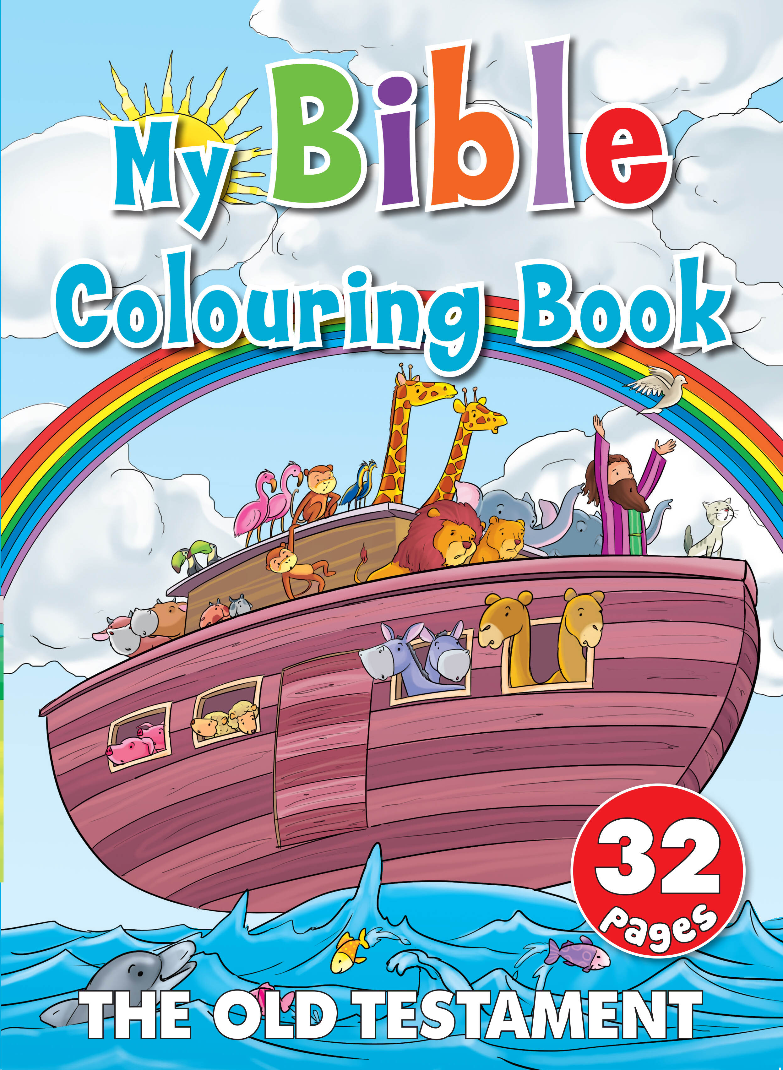 My Bible Colouring Book The Old Testament 32 Page