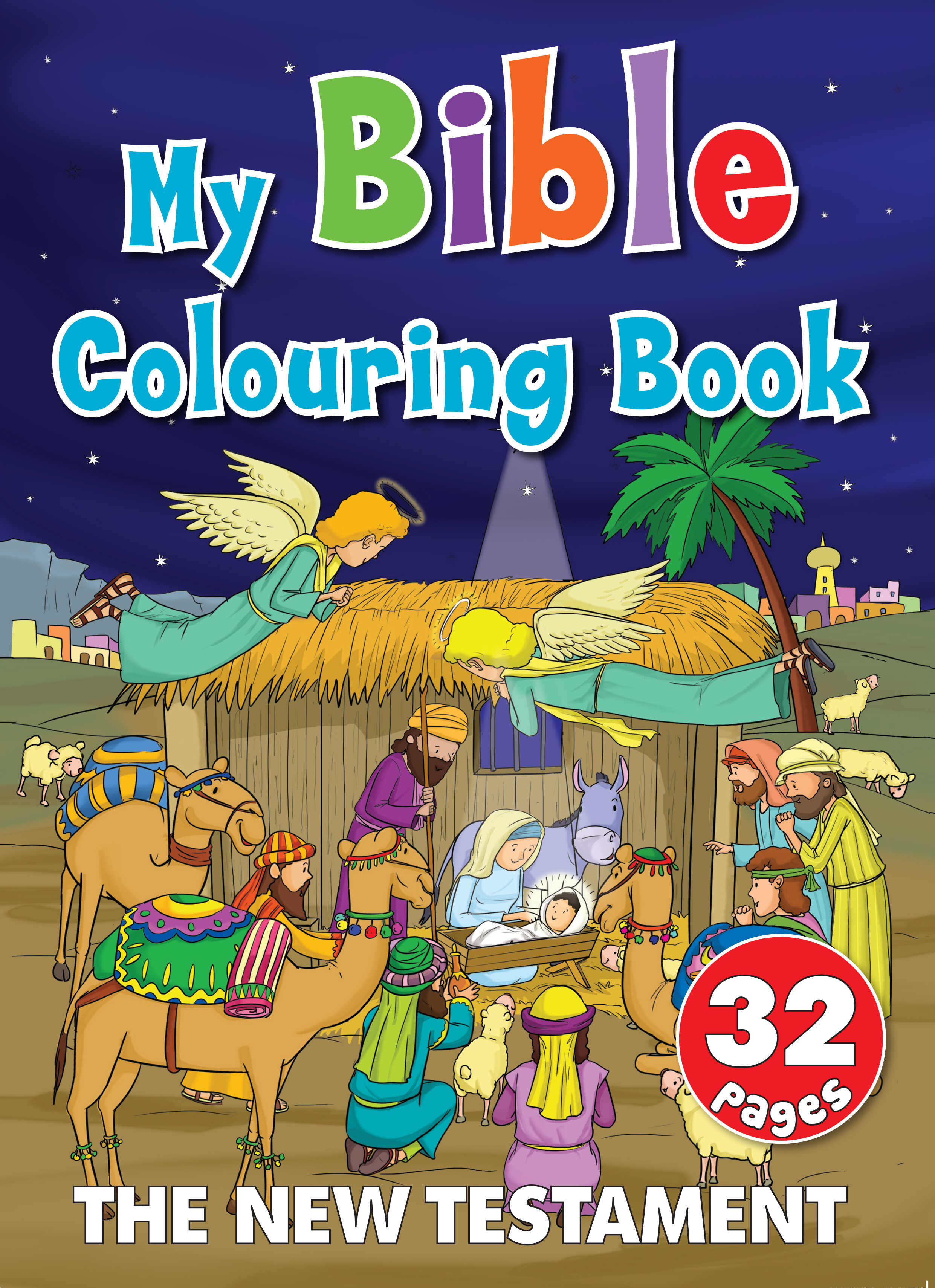 My Bible Colouring Book The New Testament 32 Page