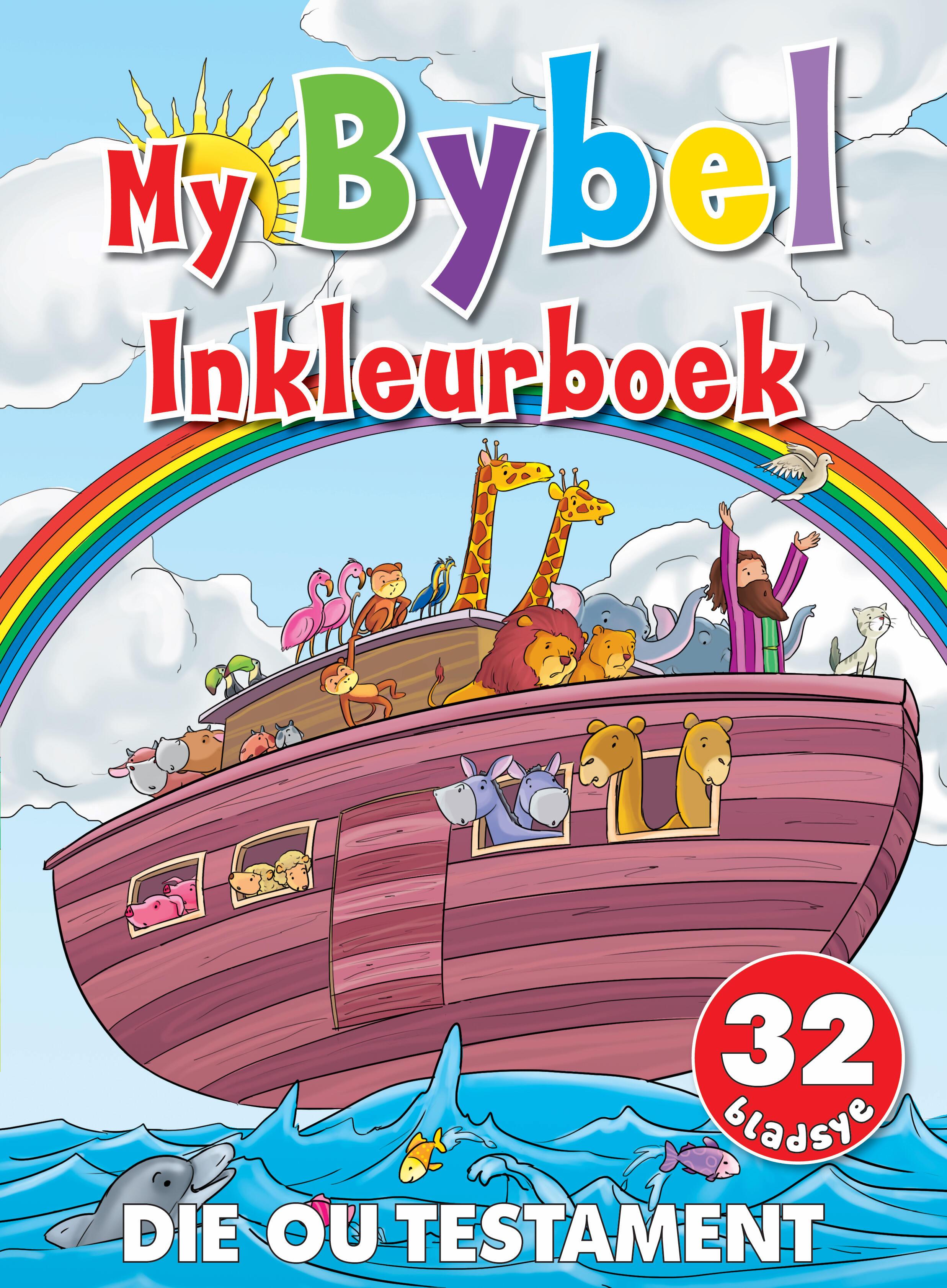 My Bybel Inkleurboek - Die Ou Testatment - 32 Bladsye