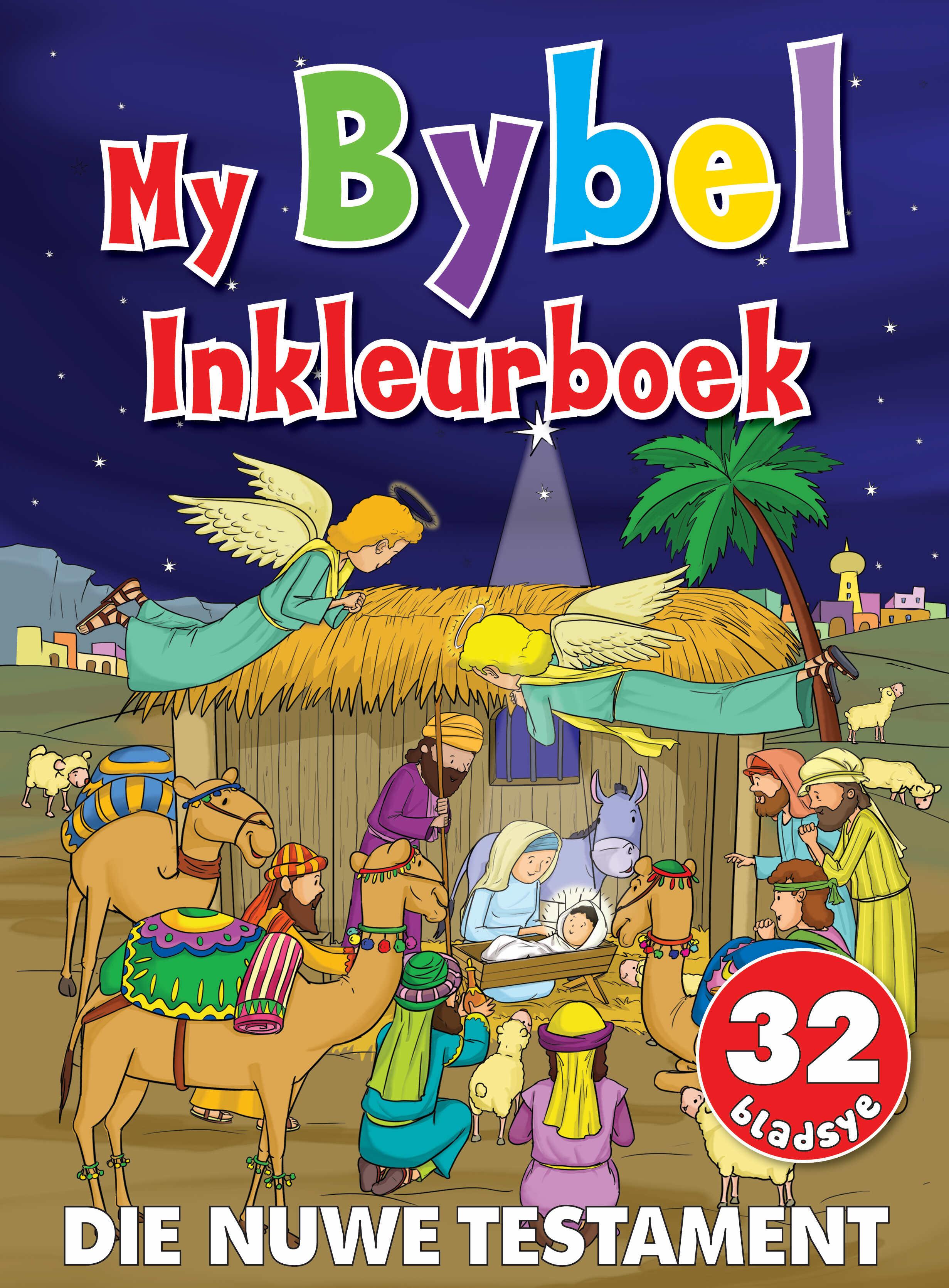 My Bybel Inkleurboek - Die Nuwe Testatment - 32 Bladsye